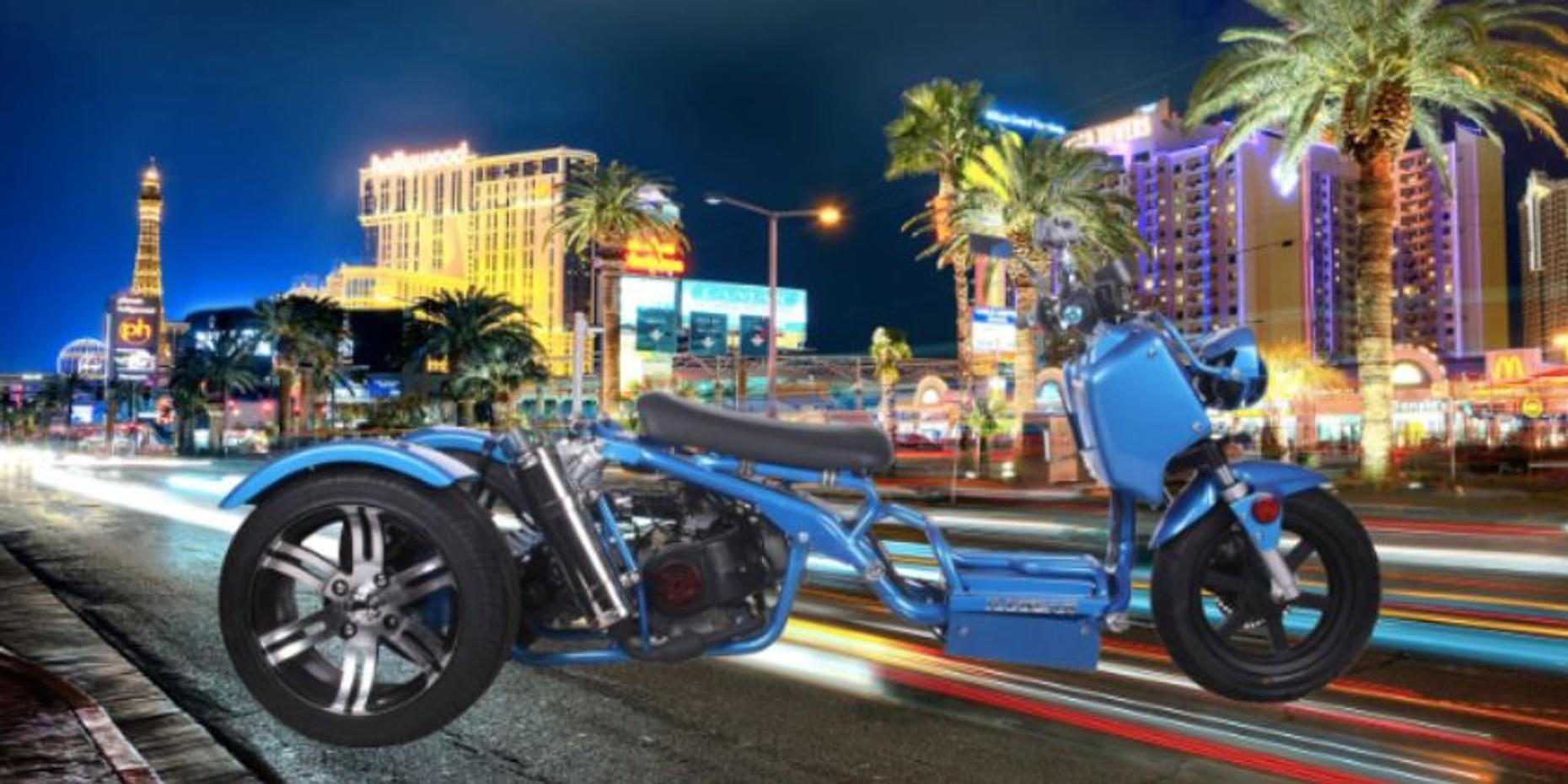 Full-Day Maddog 150cc Trike Rental in Las Vegas