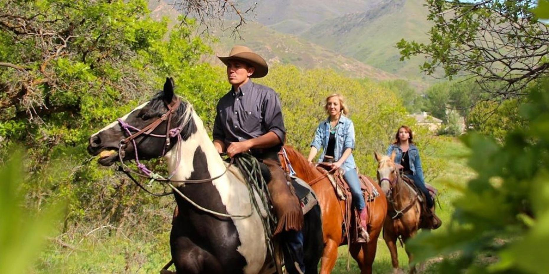 One-Hour Western Trail Ride in Salt Lake City