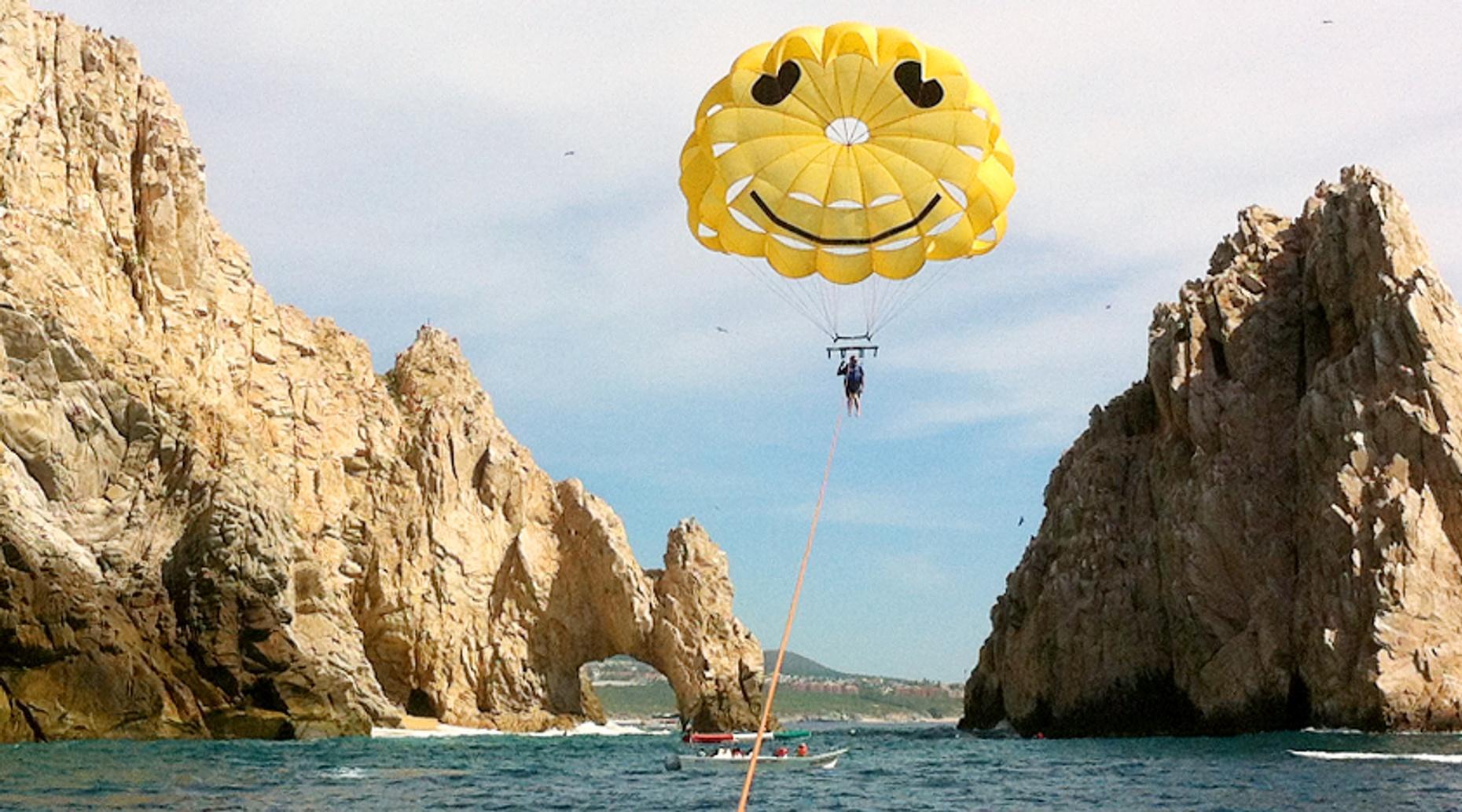 Tandem Parasailing Flight