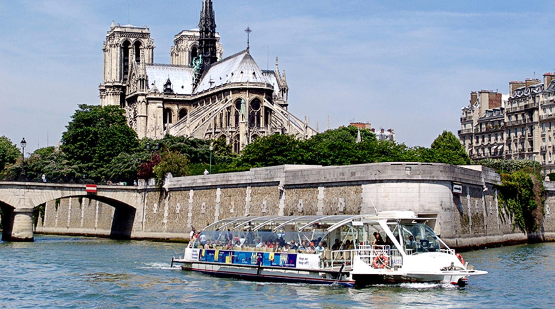 Paris Batobus Two Day Pass