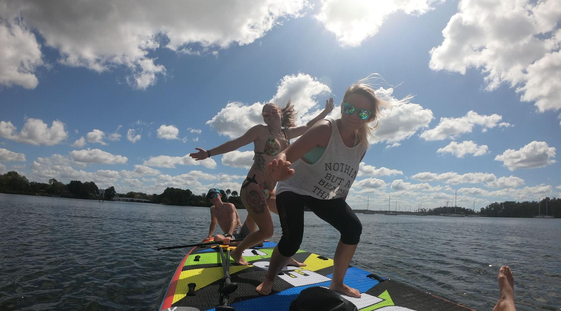 2-Hour Party Board Rental and Manatee Viewing at Crystal River