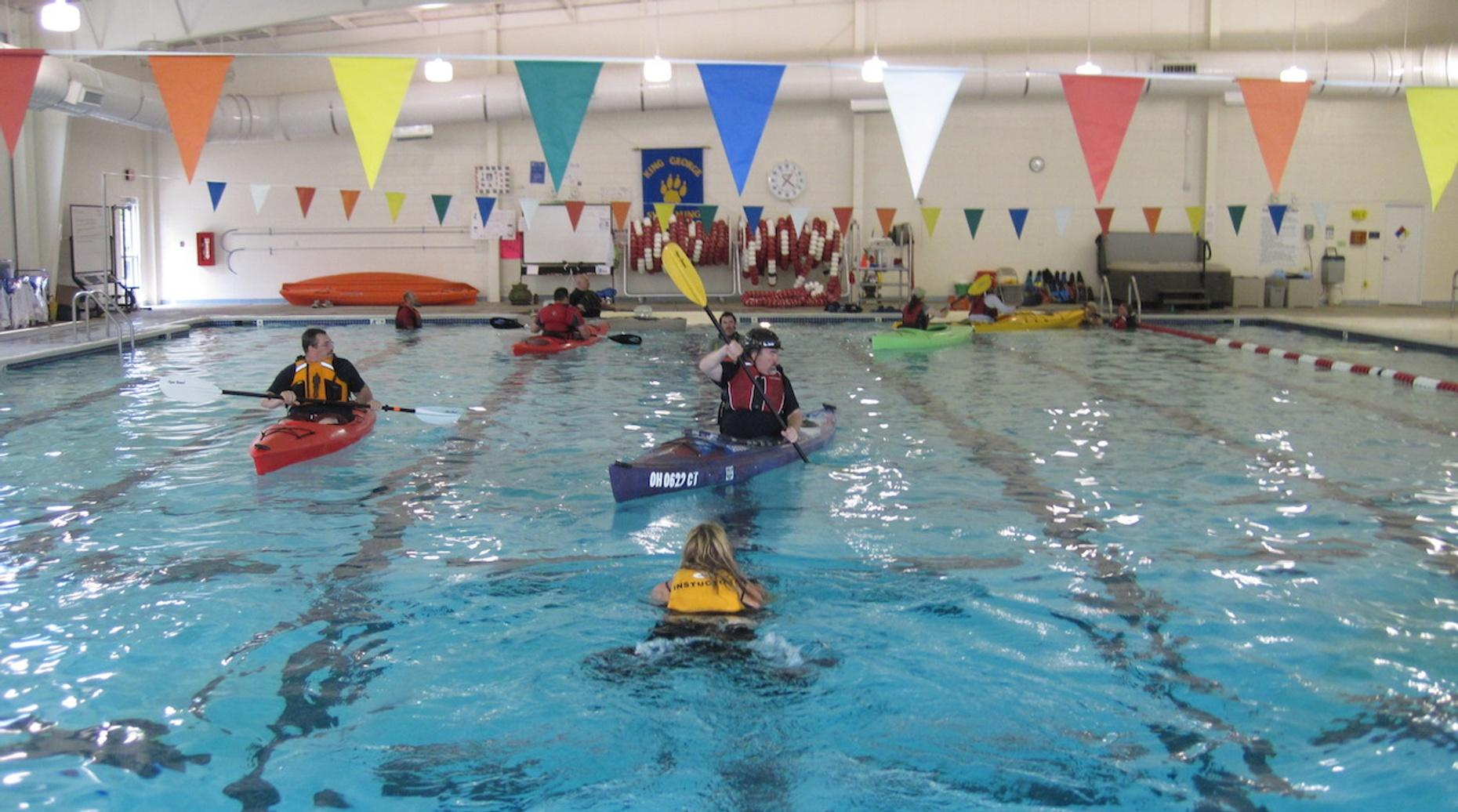 Intermediate Kayak Class in Chicago