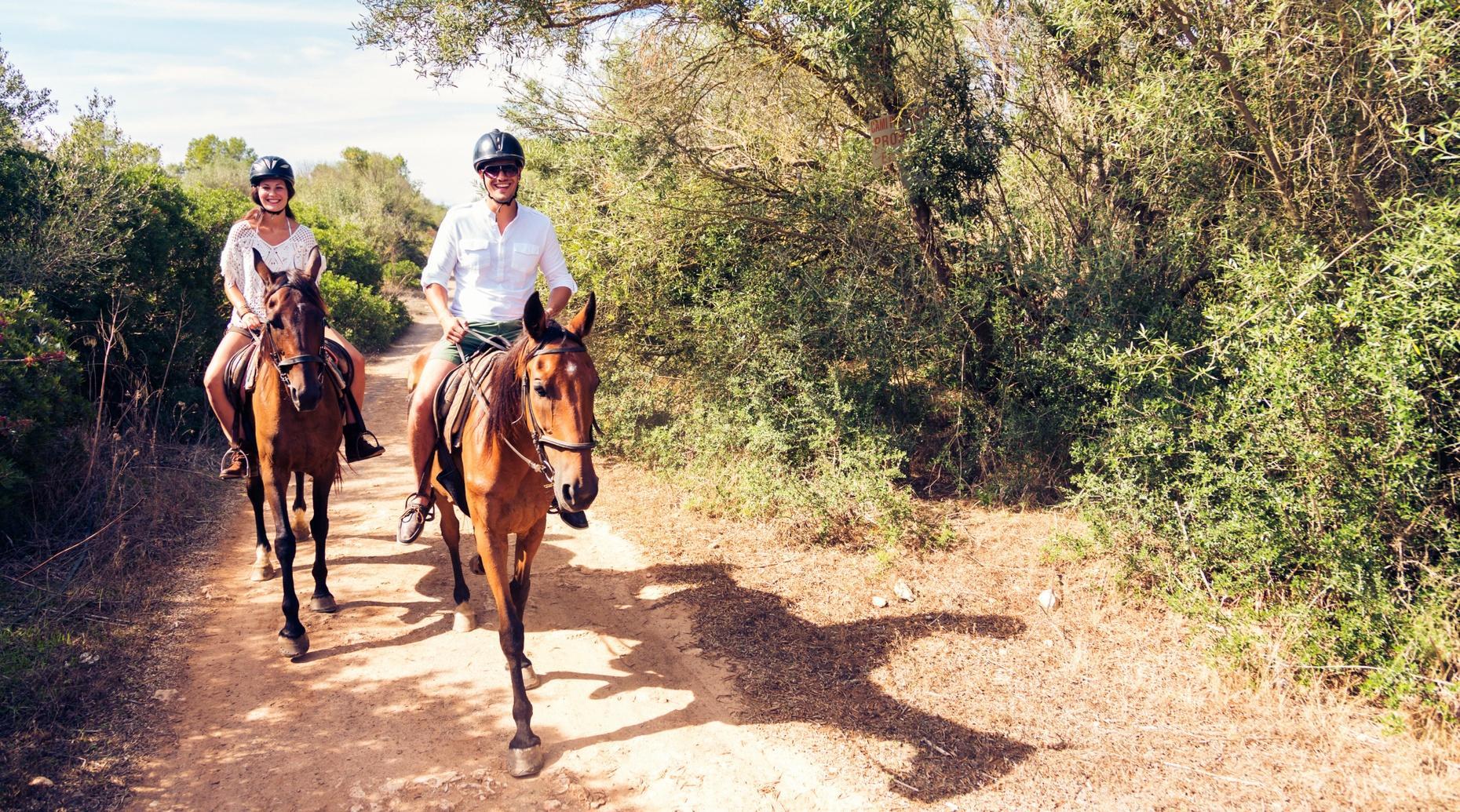 Horseback Trail Ride in Rochester