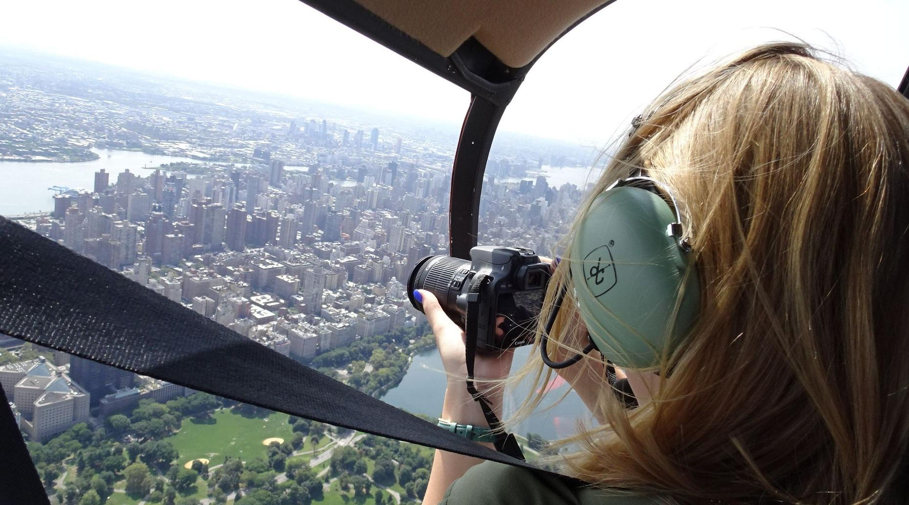 Private NYC Aerial Photography Helicopter Flight