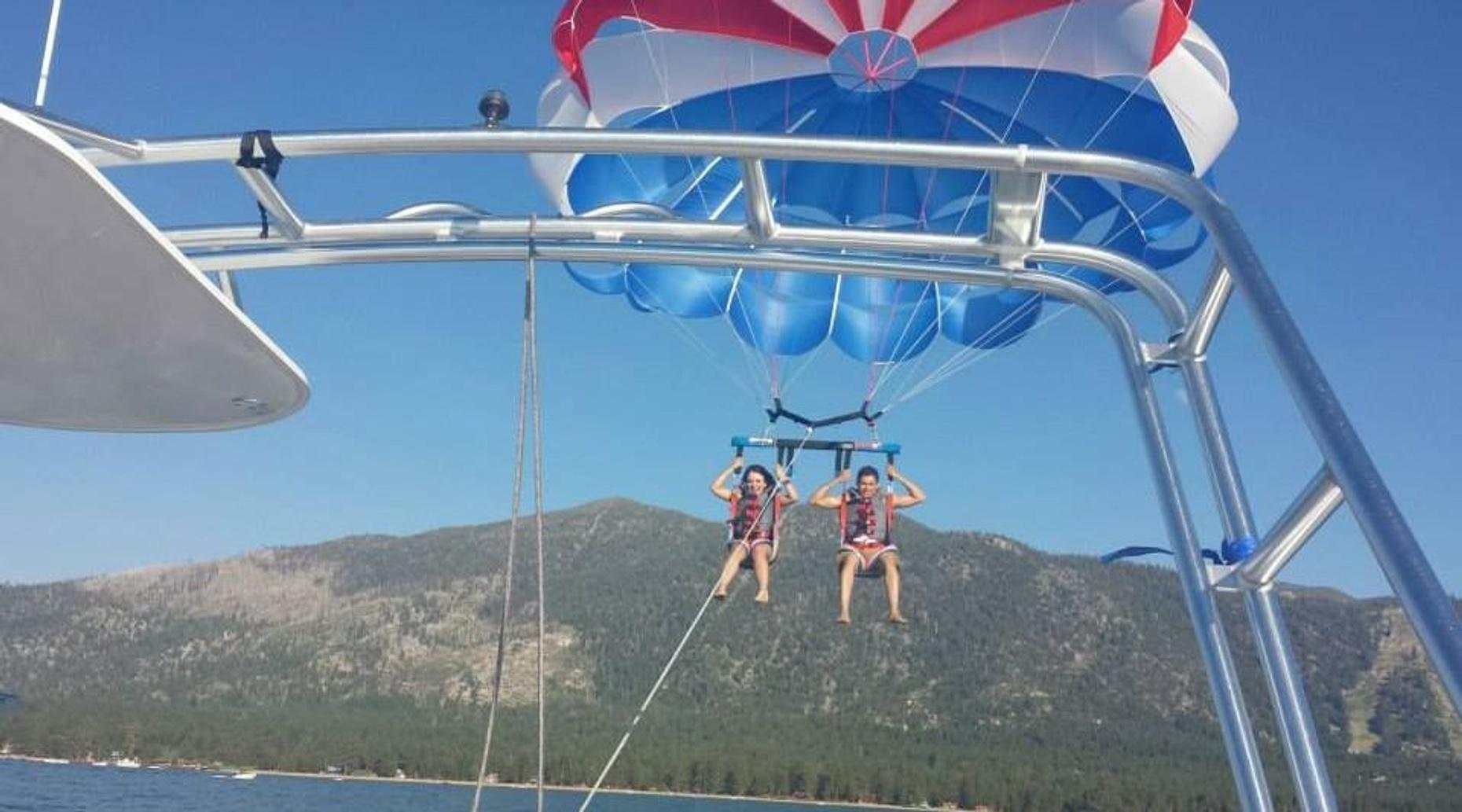 Lake Tahoe Parasailing Adventure
