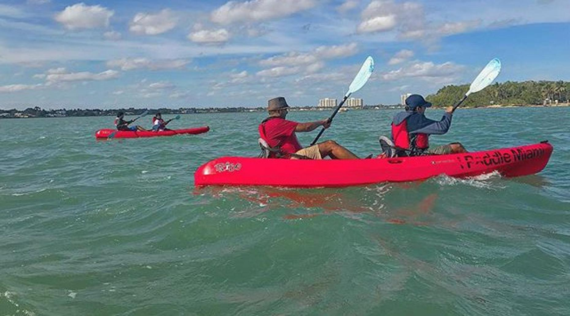 1-Hour Double Kayak Rental in Miami