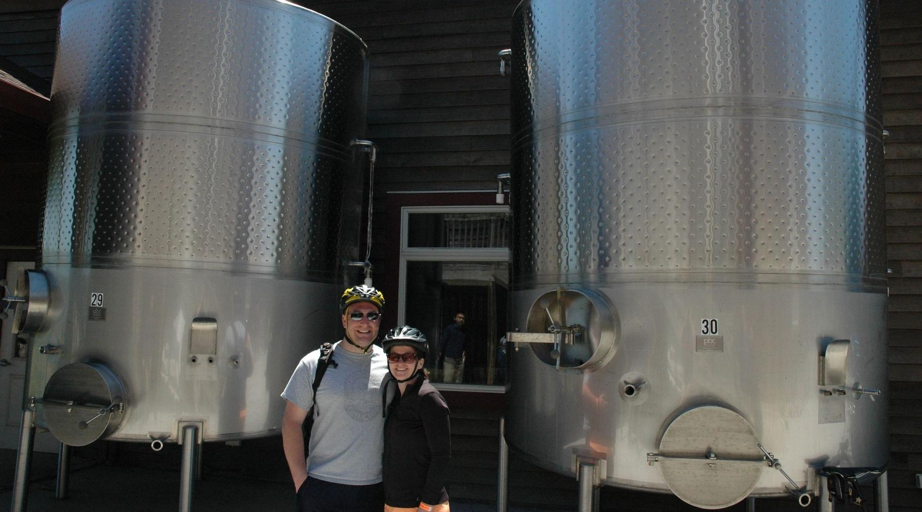 Long Island Guided Bike Brewery Vineyard Tour