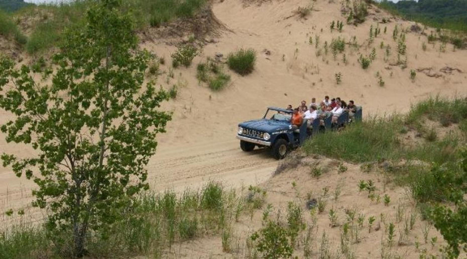 Dune Ride Experience in West Michigan