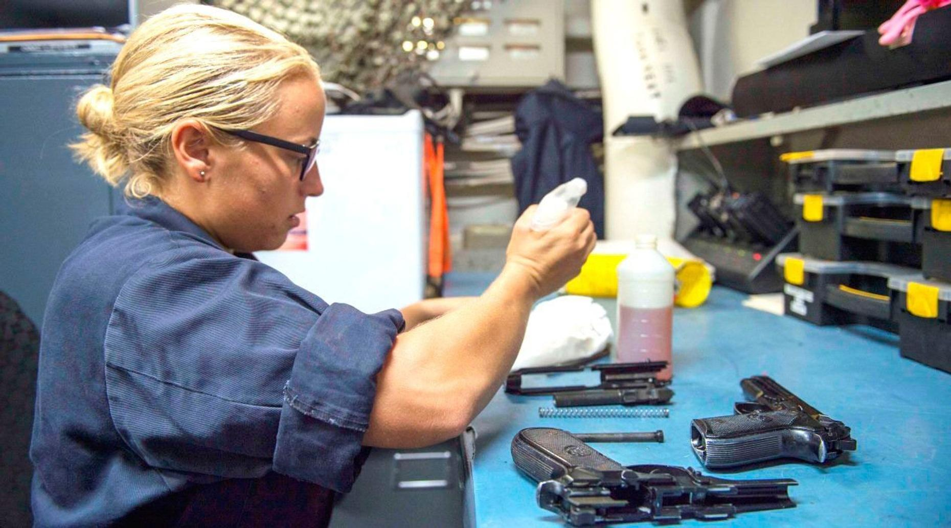 Upgraded Ladies Gun Package in Las Vegas