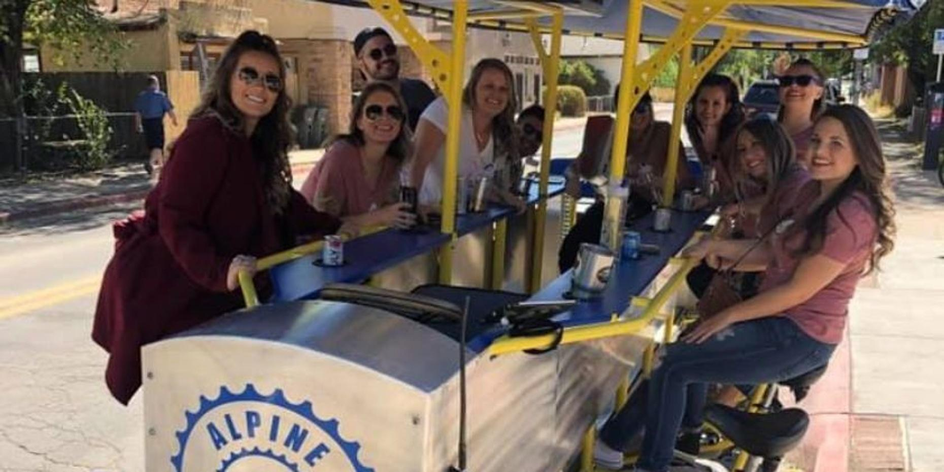 Private Party Pedal Pub Tour in Flagstaff, Starting at Collins Irish Pub