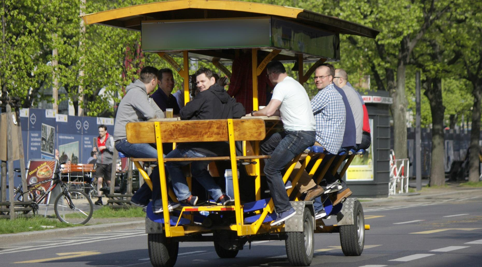 Craft Beer Pedal Trolley Tour in Ann Arbor