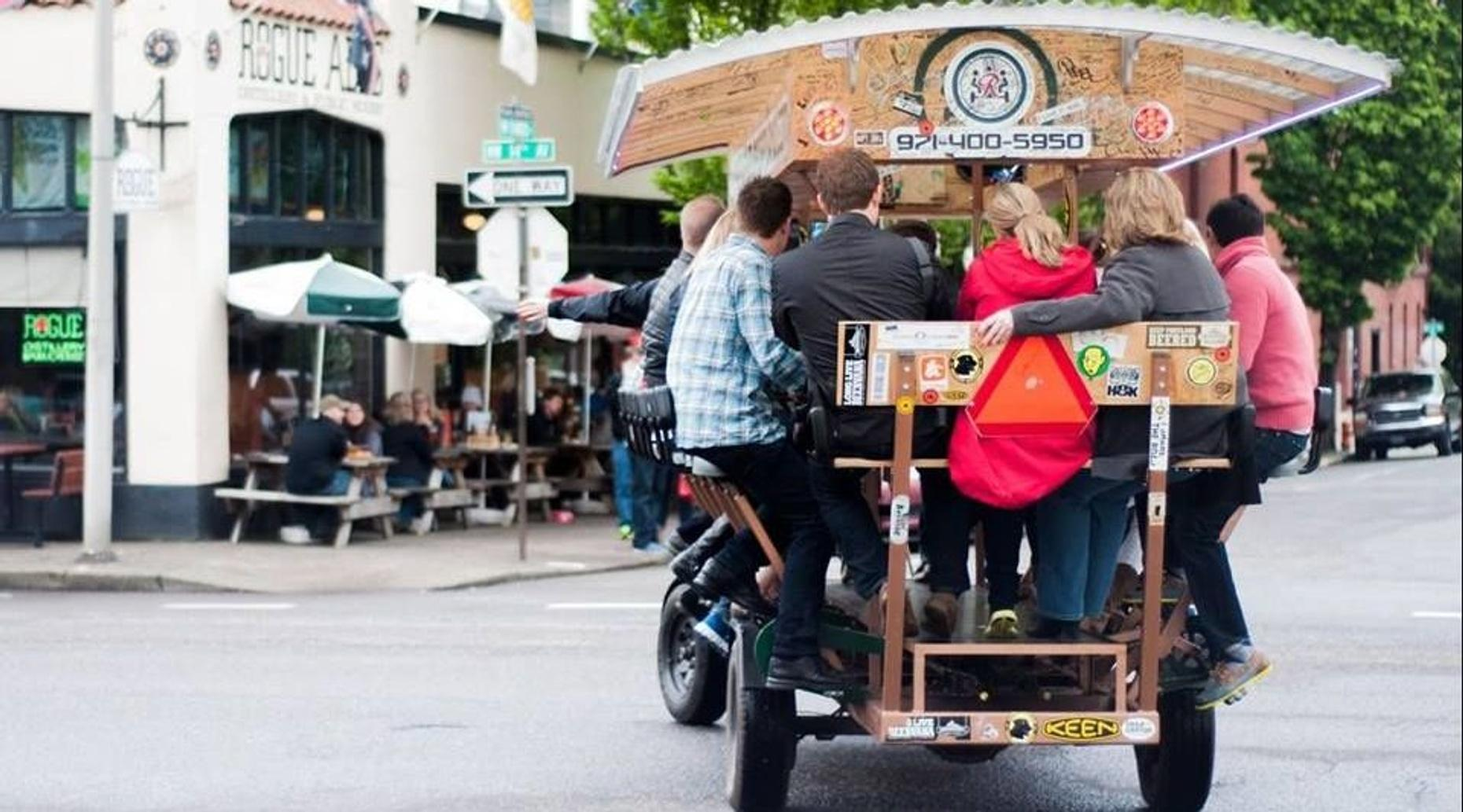 Pedal-Powered Beer Tour of Portland - Northwest Route