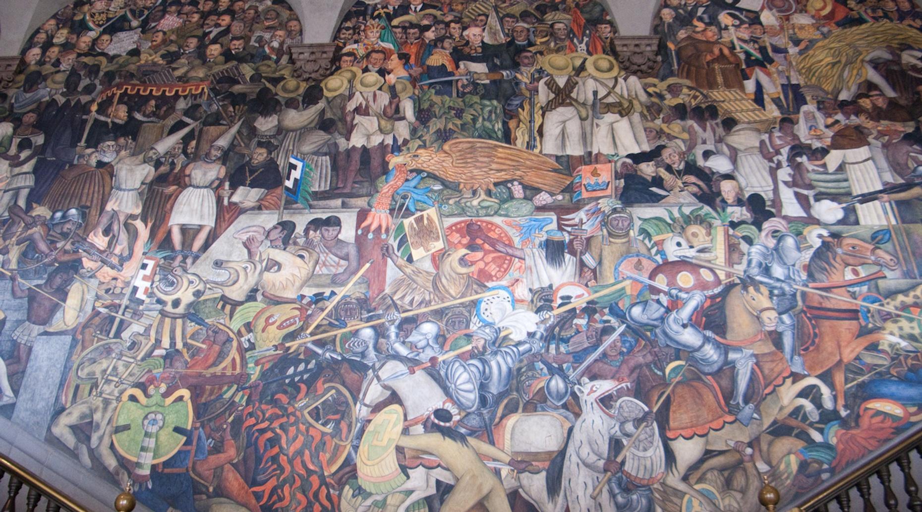 Muralist Art Walking Tour in Mexico City