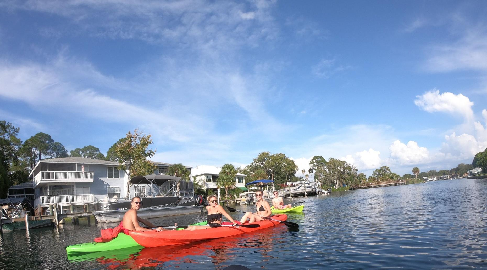 2-Hour Single Kayak Rental and Manatee Viewing in Crystal River