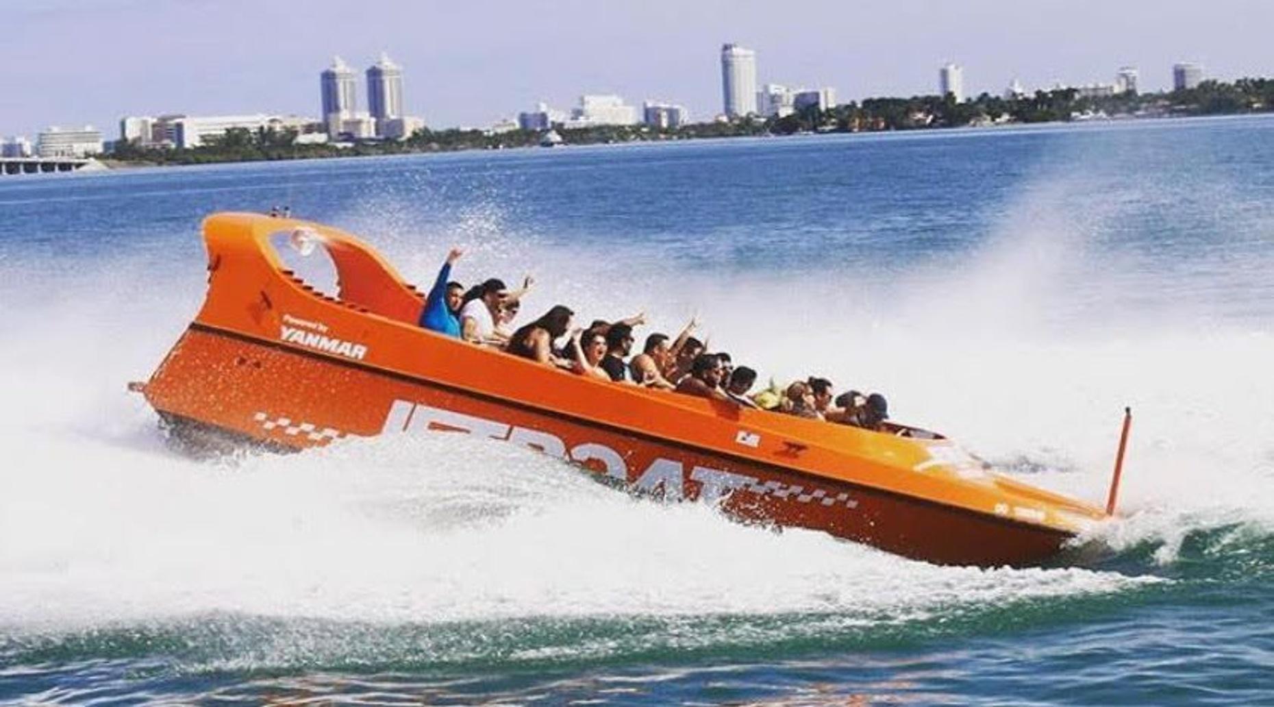 Adrenaline Junkie Jet Boat Ride