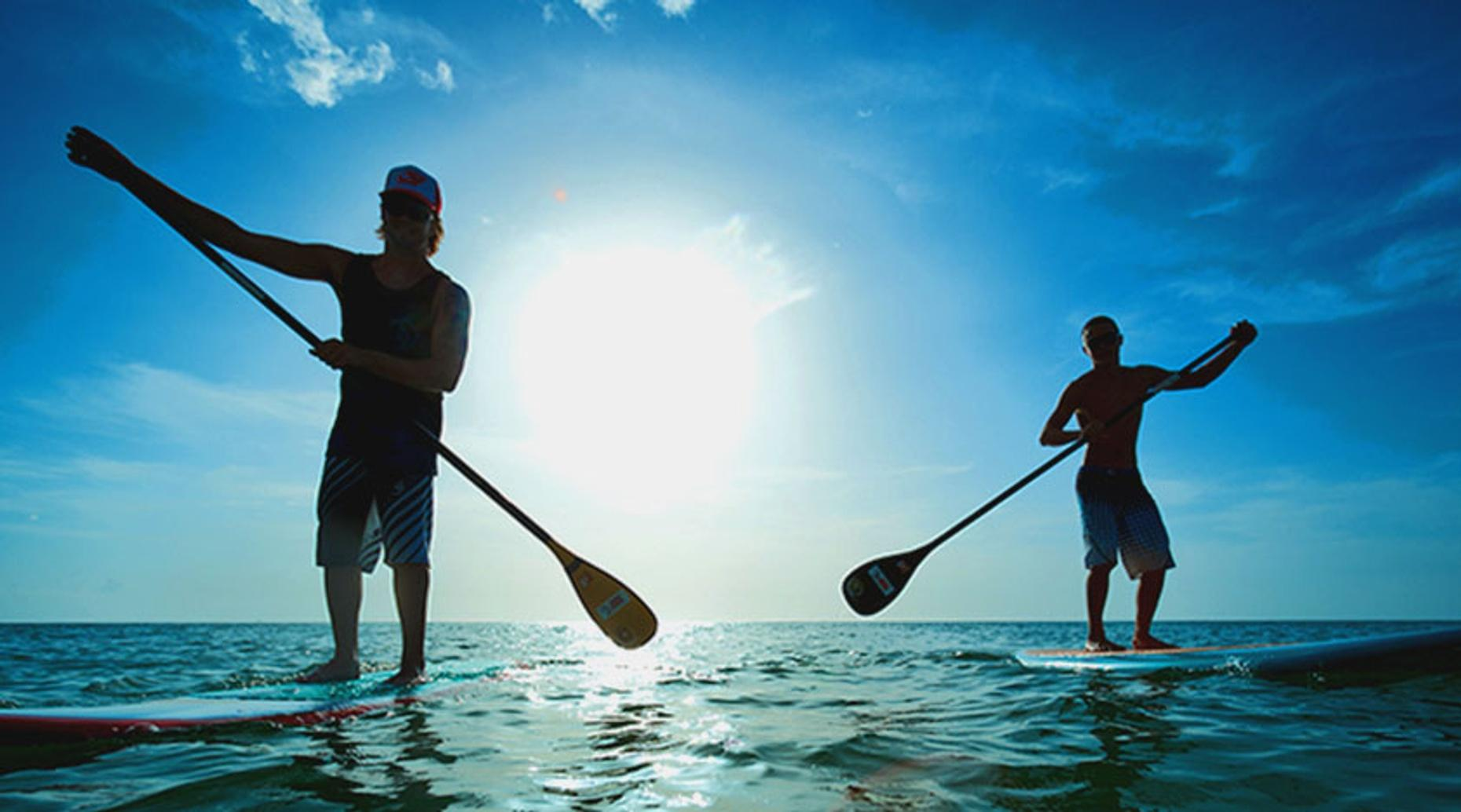 Hourly Stand-Up Paddleboard Rental in Cancun