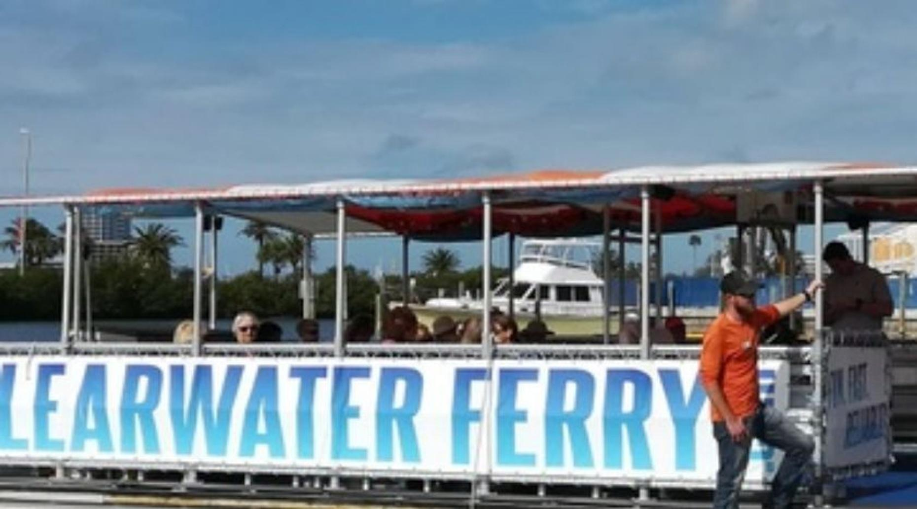 Clearwater Beach Marina Ferry Ride to Downtown