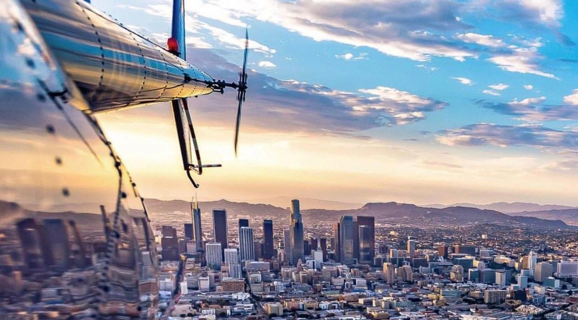 30-Minute Downtown Los Angeles Helicopter Tour