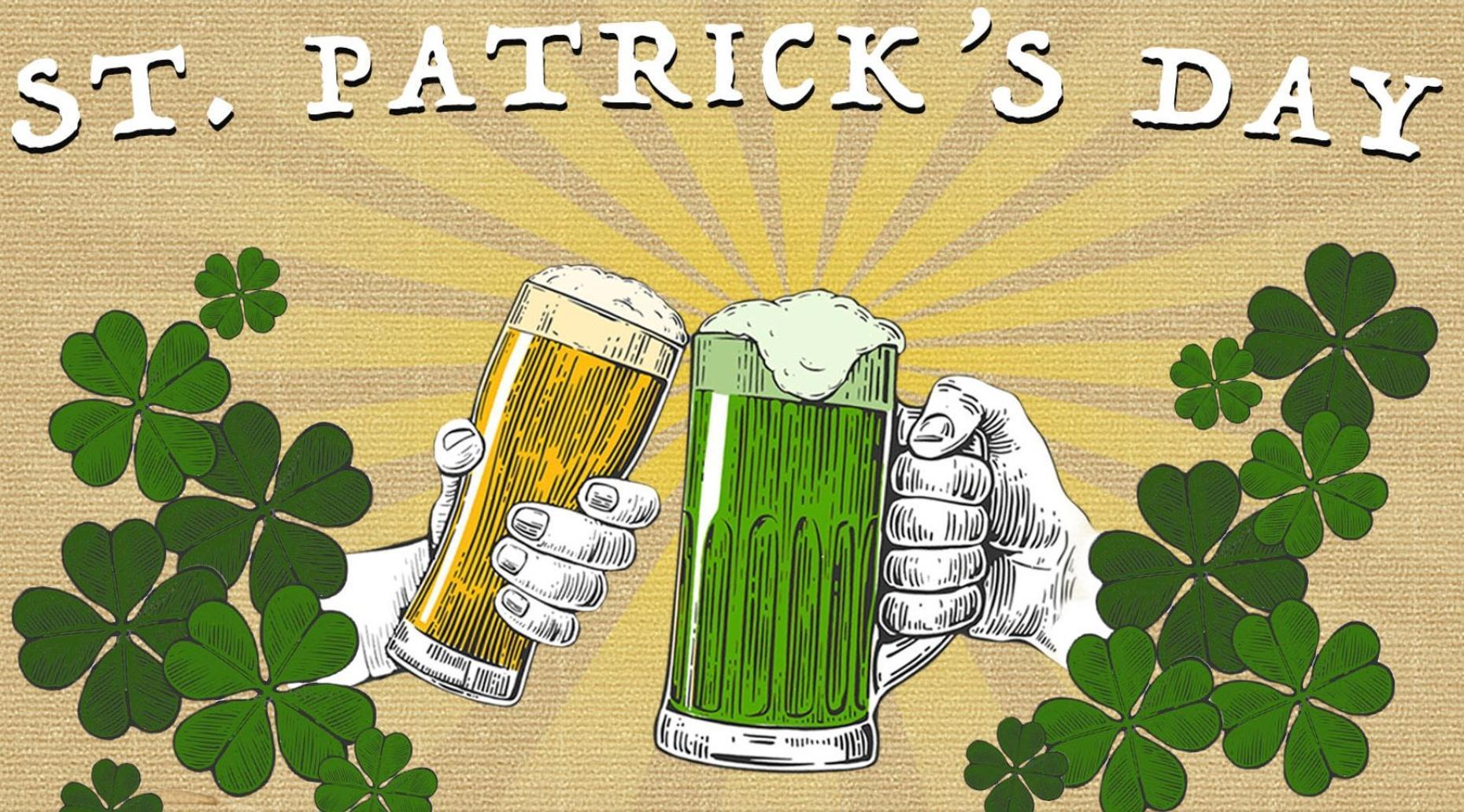 2019 Fremont Street St Patrick's Day Bar Crawl