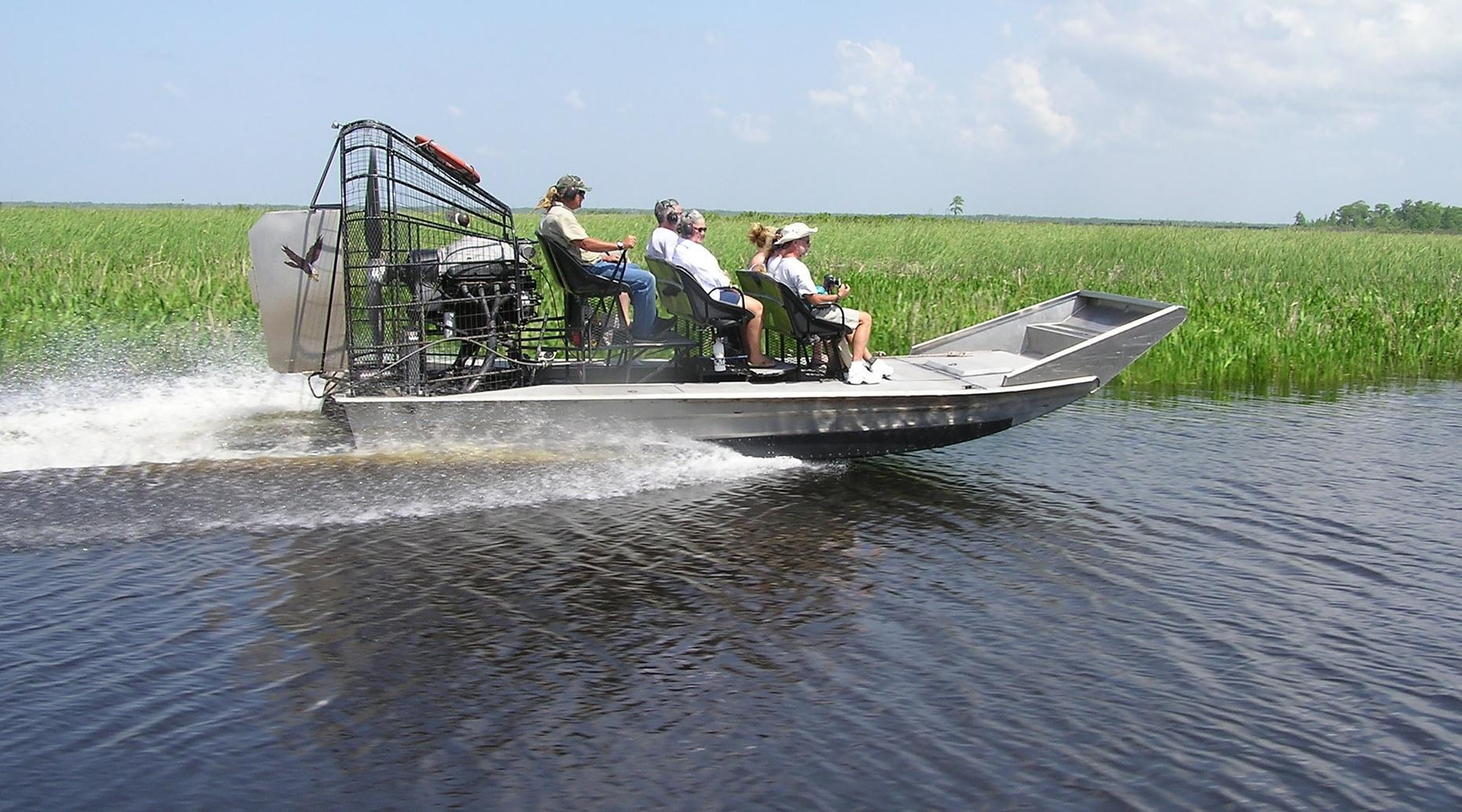 Cajun Country Airboat Tour