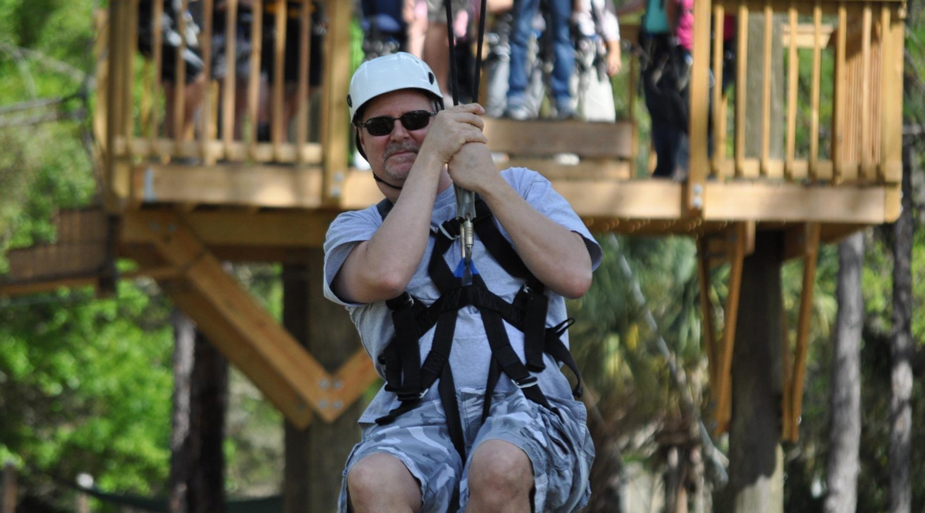 Fall Ziplining Adventure in Provo