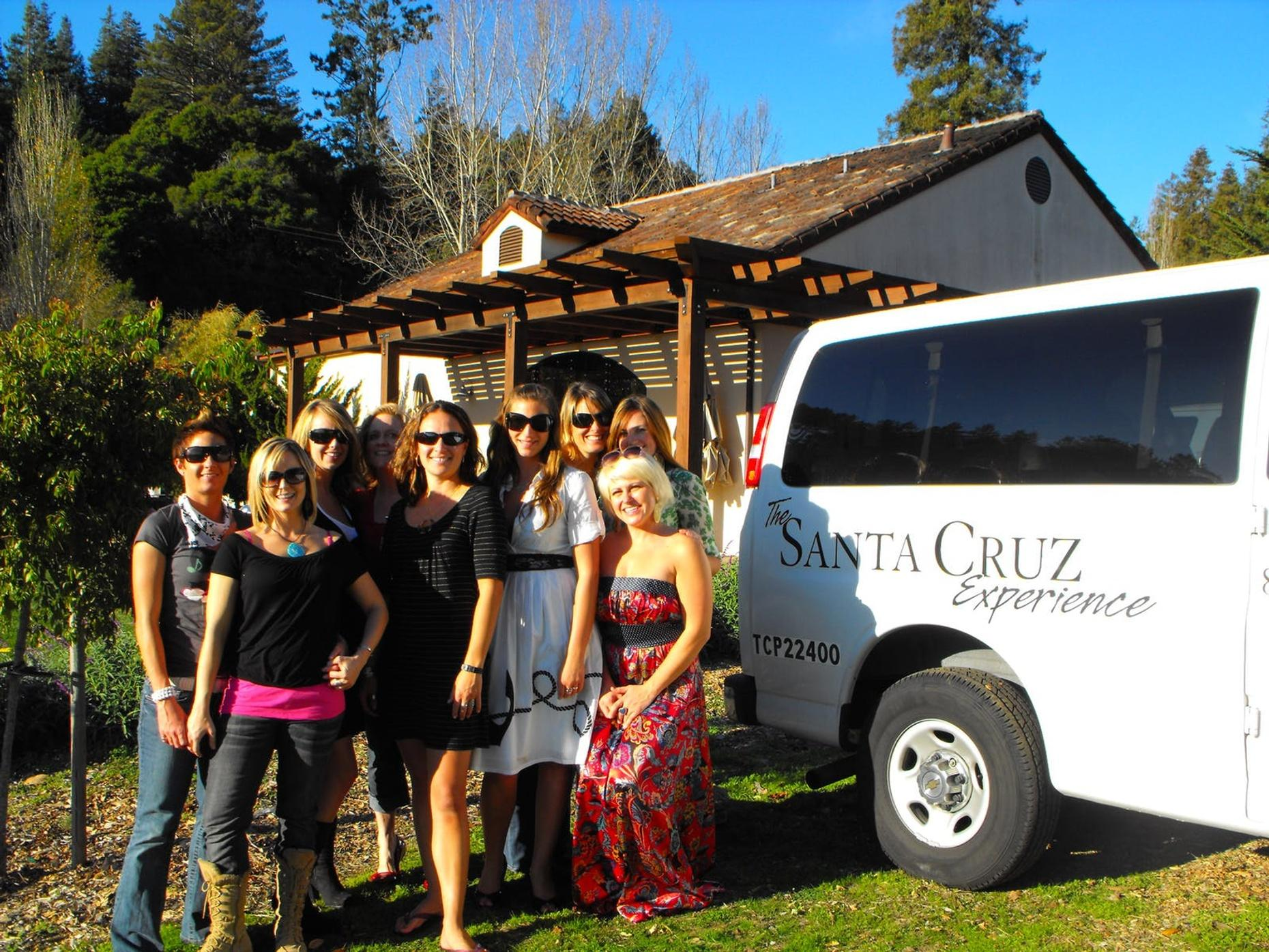 Wedding Shuttle in Santa Cruz