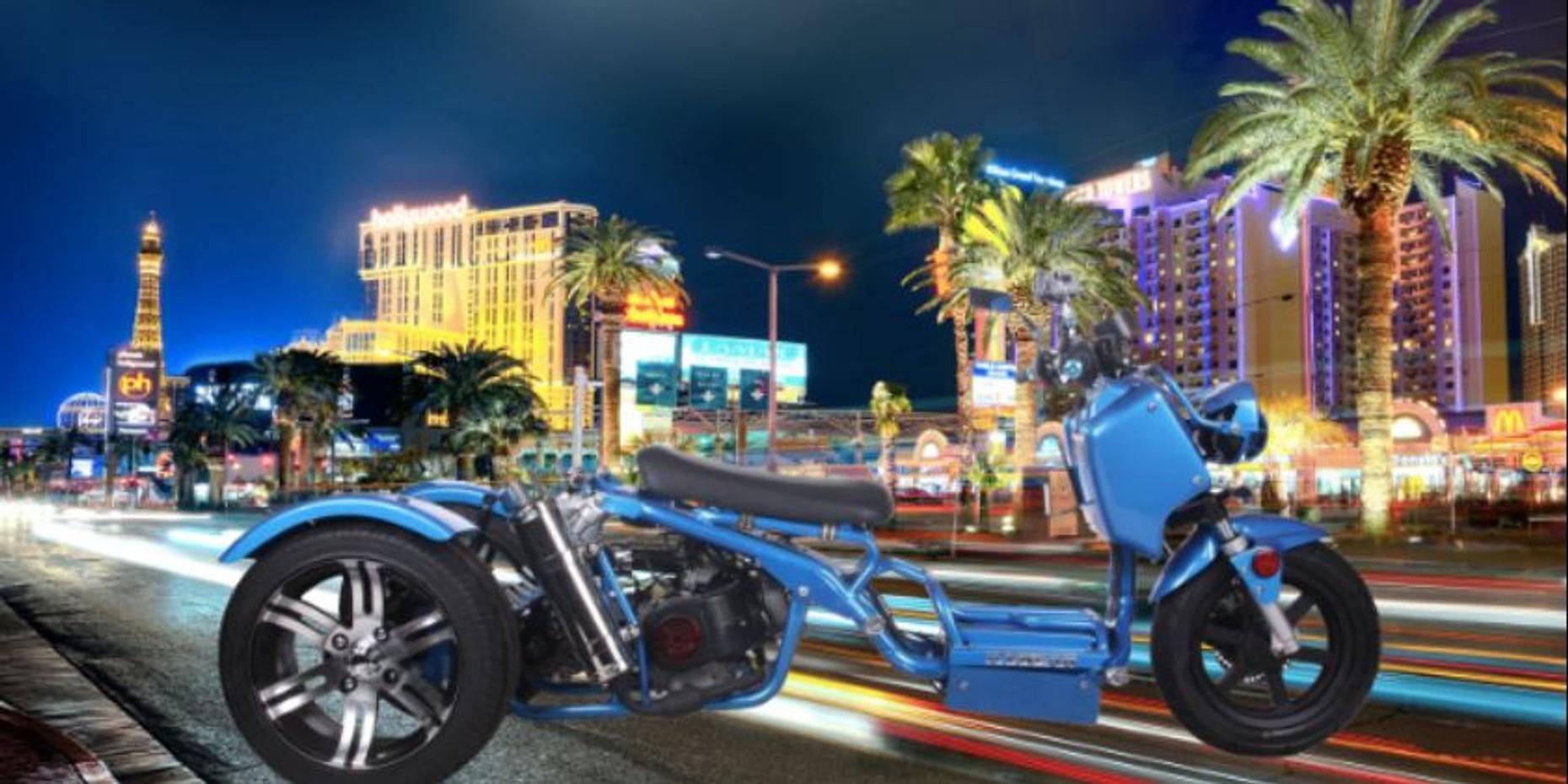 3-Hour Maddog 150cc Trike Rental in Las Vegas