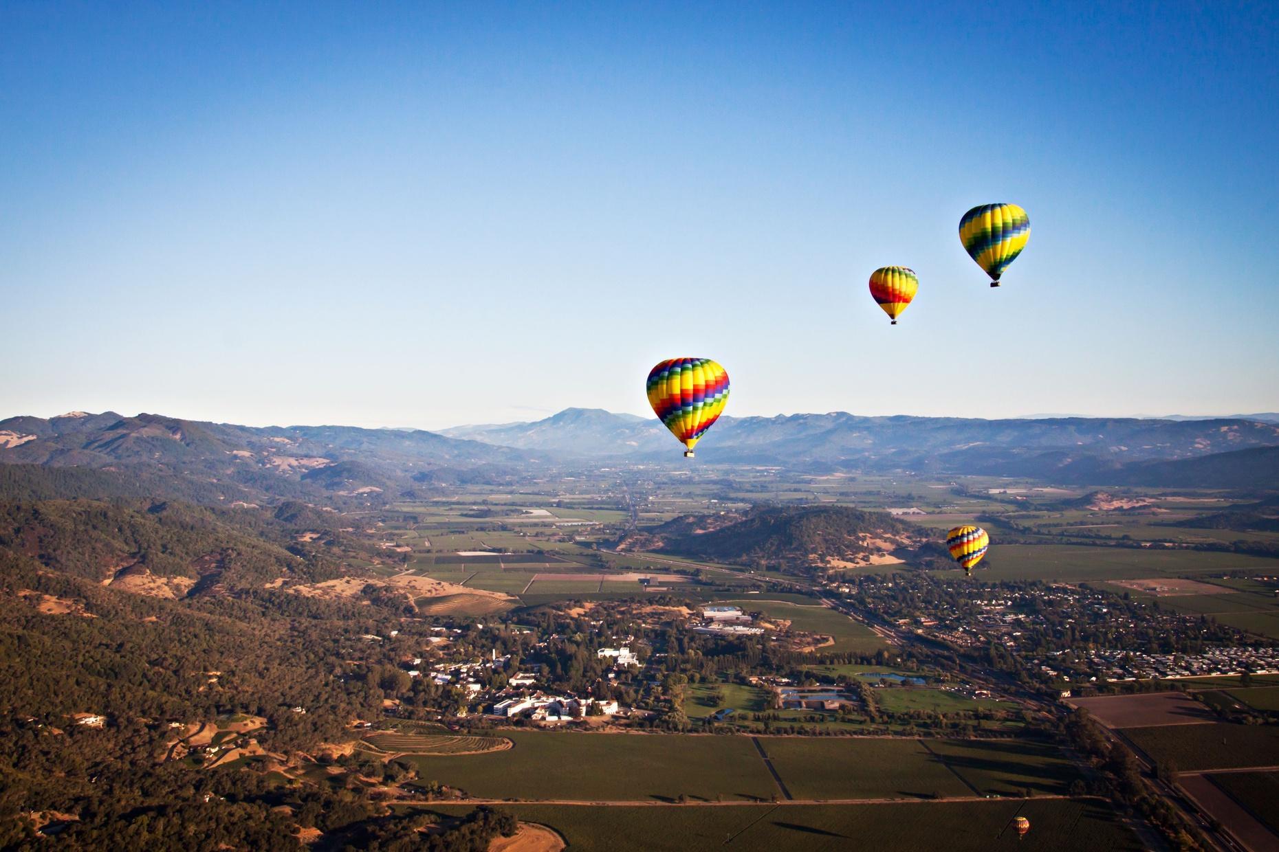 Napa Valley Sunrise Balloon Flight