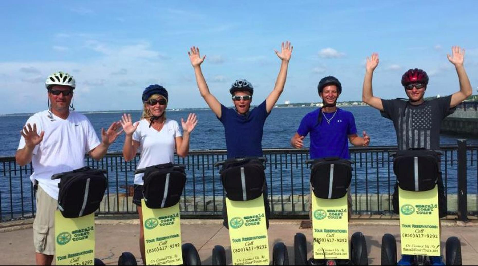 Pensacola One Hour Historical Segway Tour