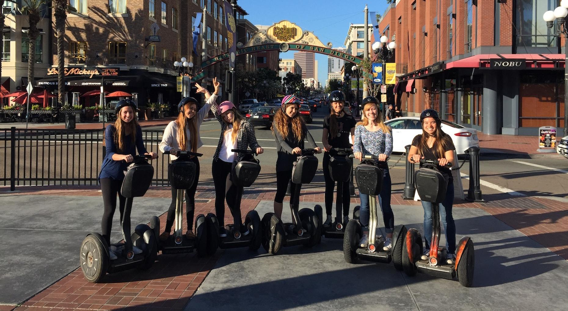 Gaslamp Harbor Segway Tour