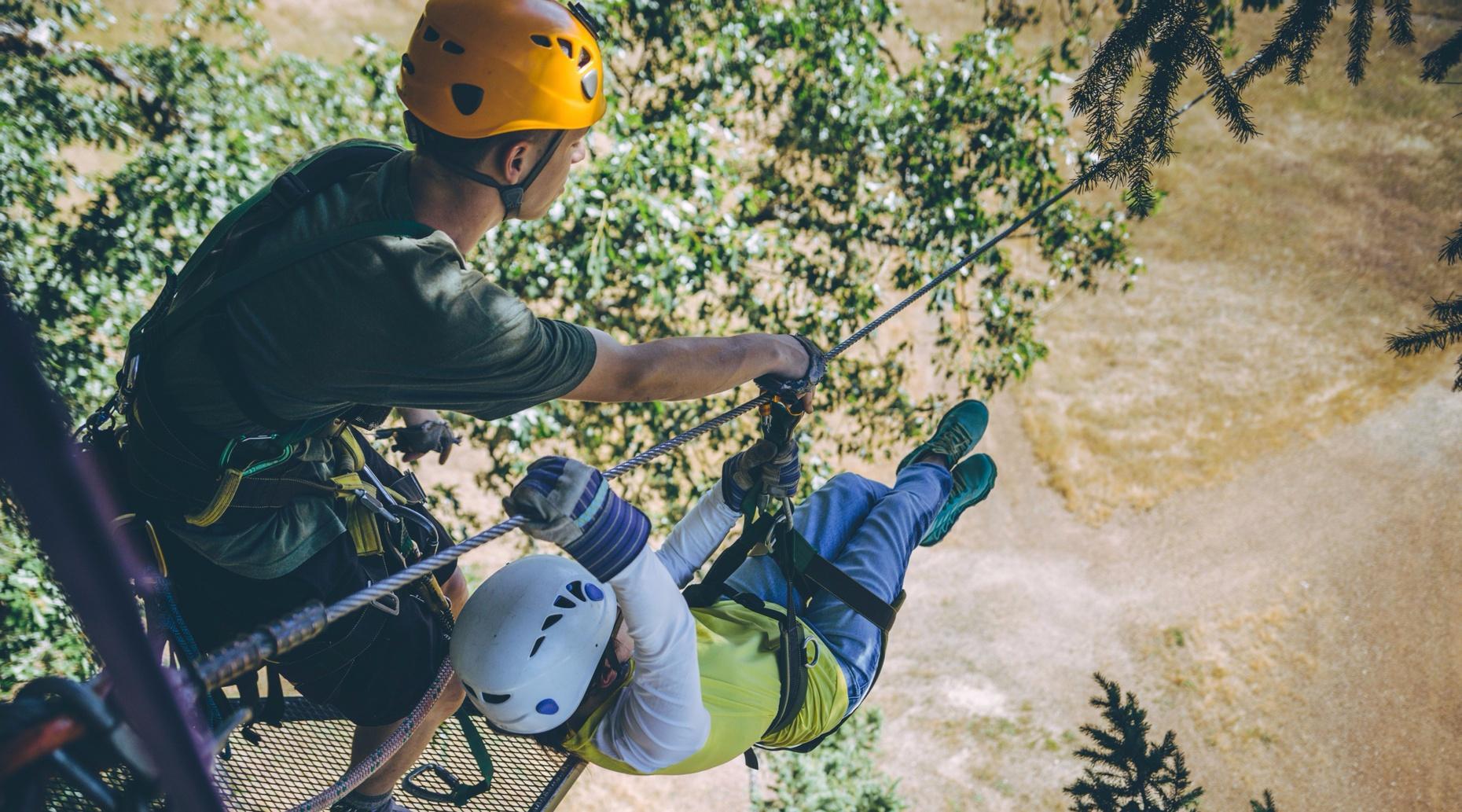 Treehouse Ziplining Adventure in Cave Junction, OR