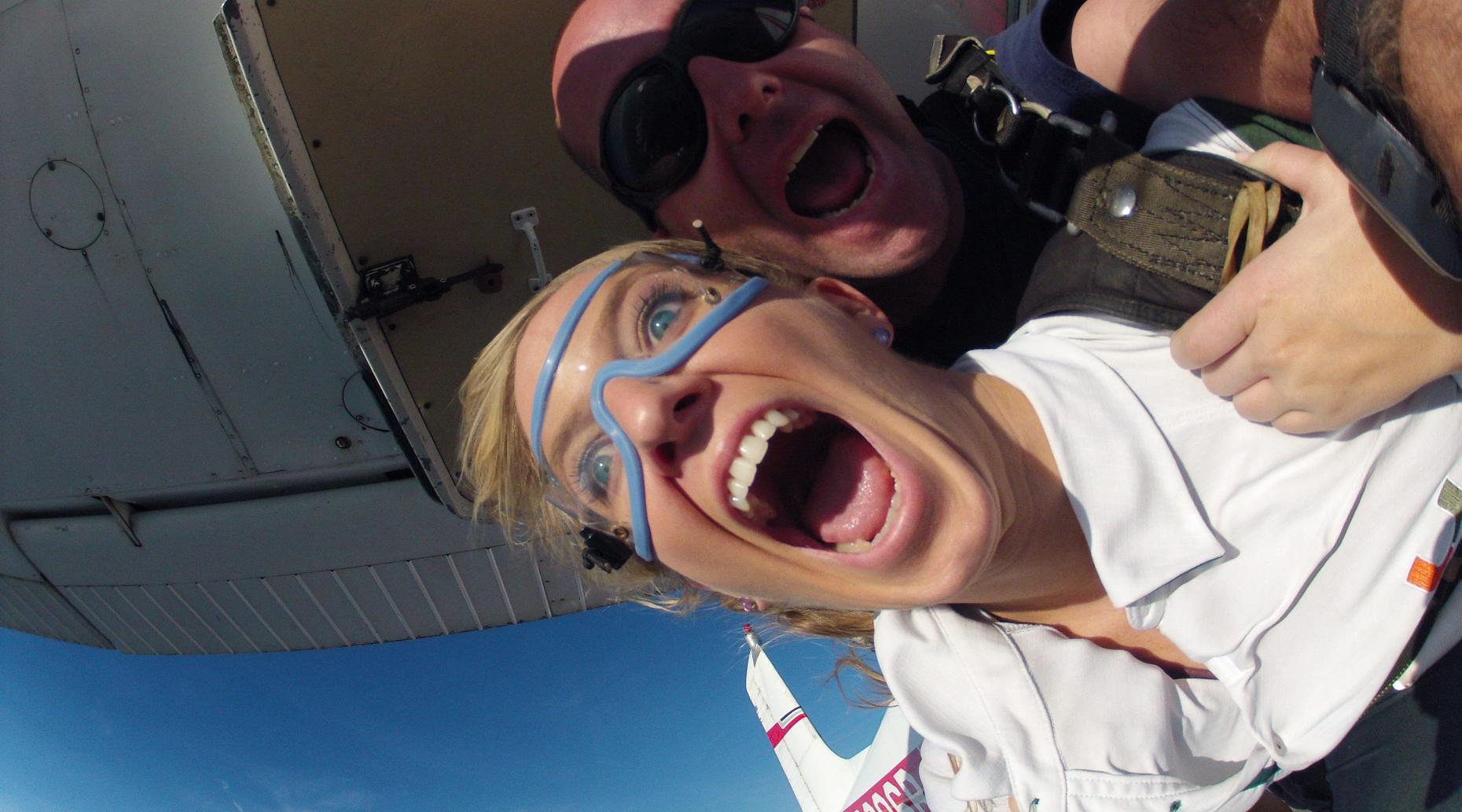 Tandem Skydiving Over Amelia Island