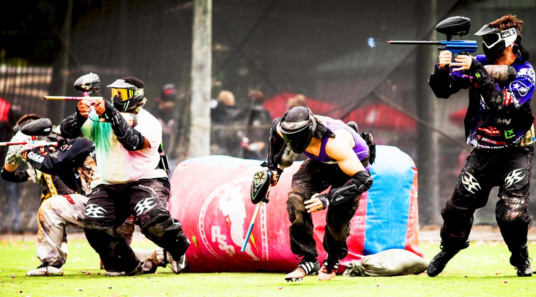 Houston Three-Hour Afternoon Paintball Session