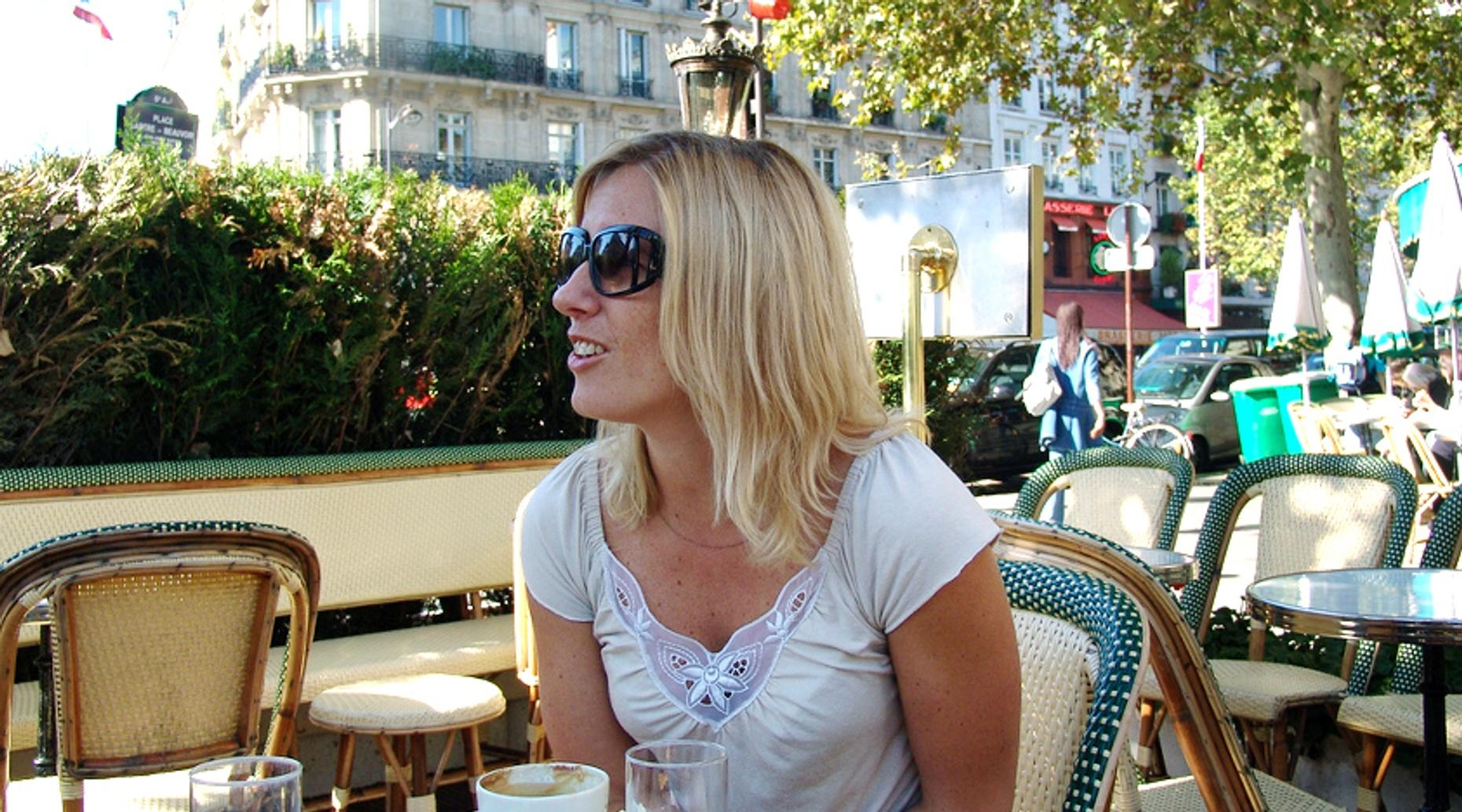 French Conversation at Café de Flore