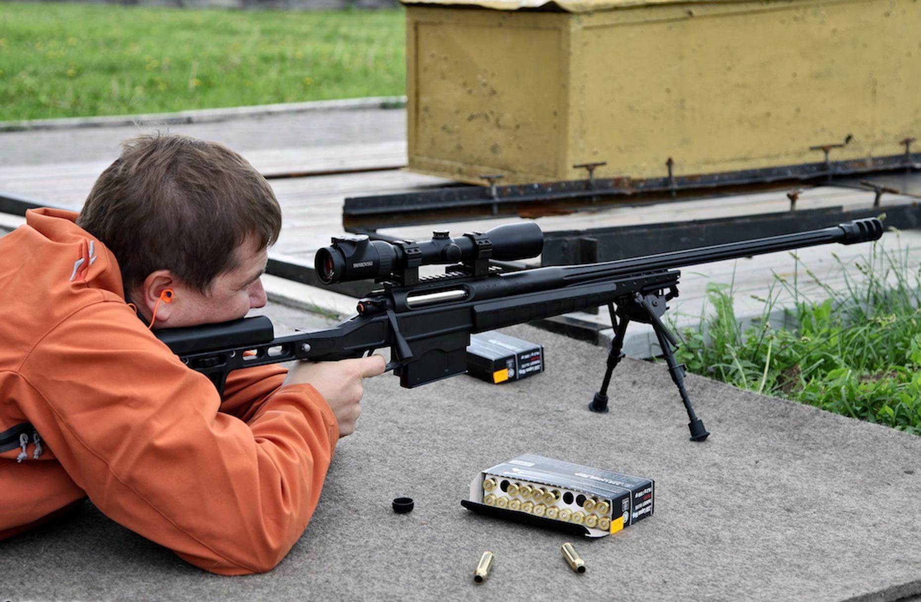 Long-Range Precision Rifle Class in Burlingame