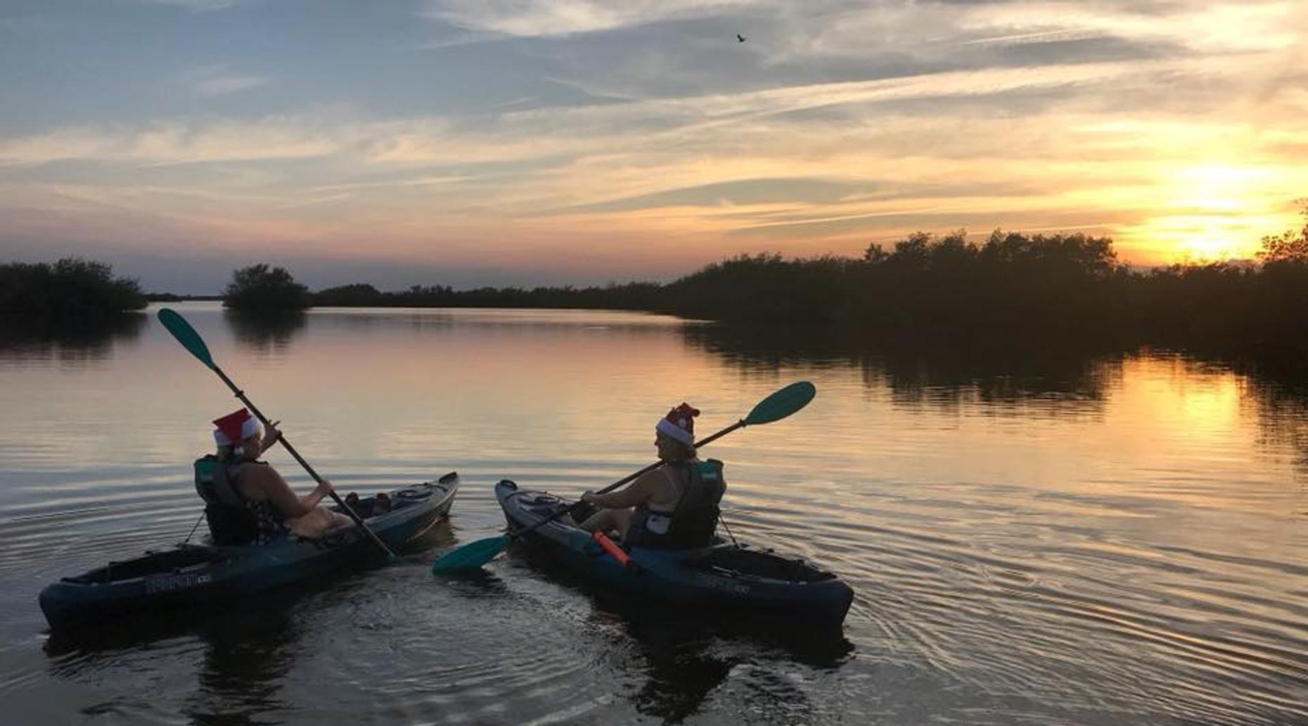 Cocoa Kayaking Thousand Islands Sunset Tour