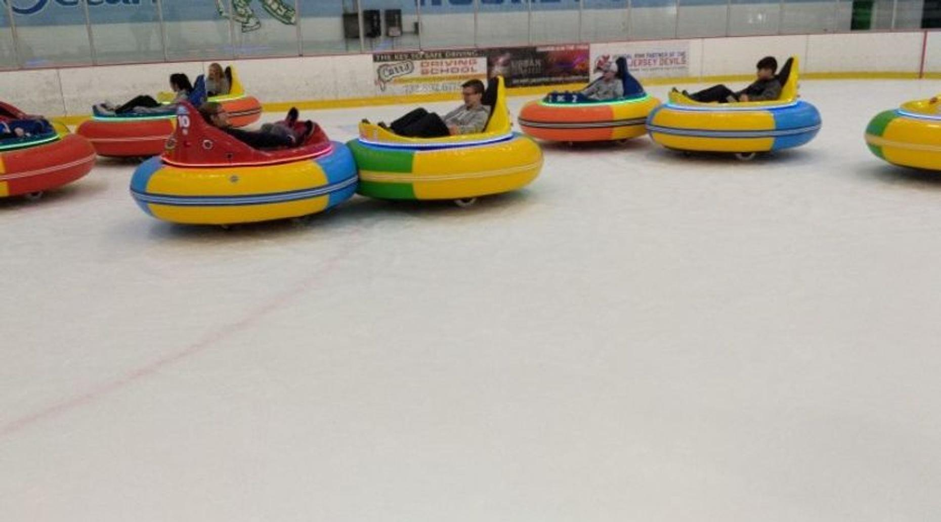 Disco Ice Bumper Car Ride in Brick Township