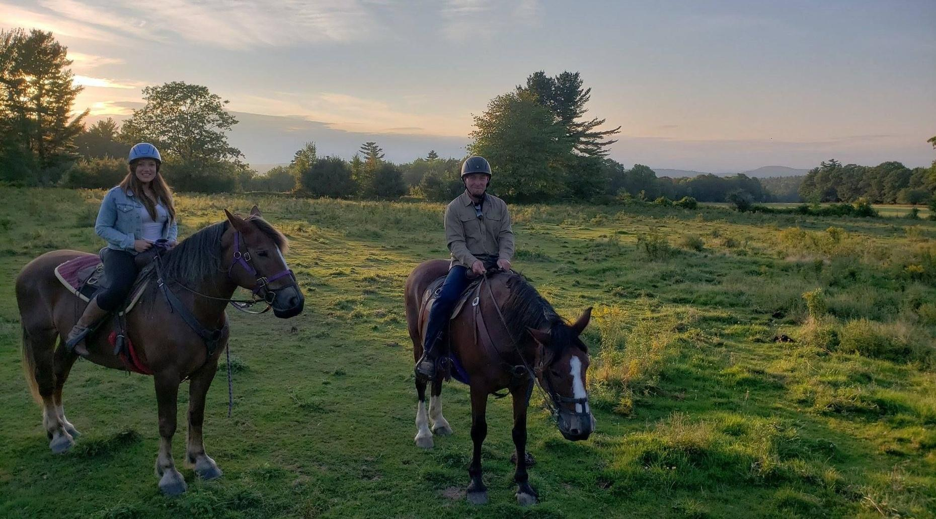 Sunset Guided Trail Ride