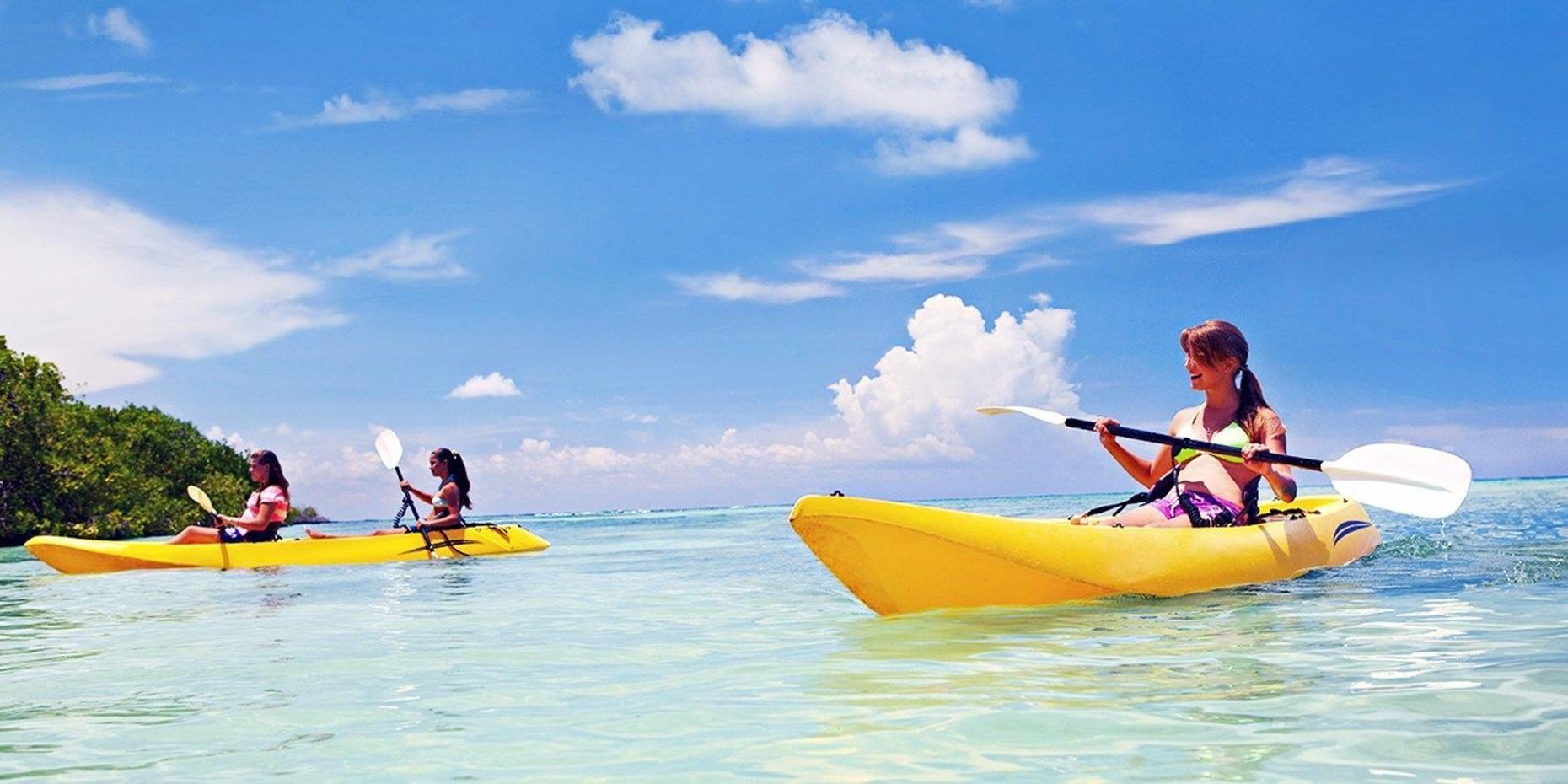 Single Kayak Rental - Peanut Island | Half Day