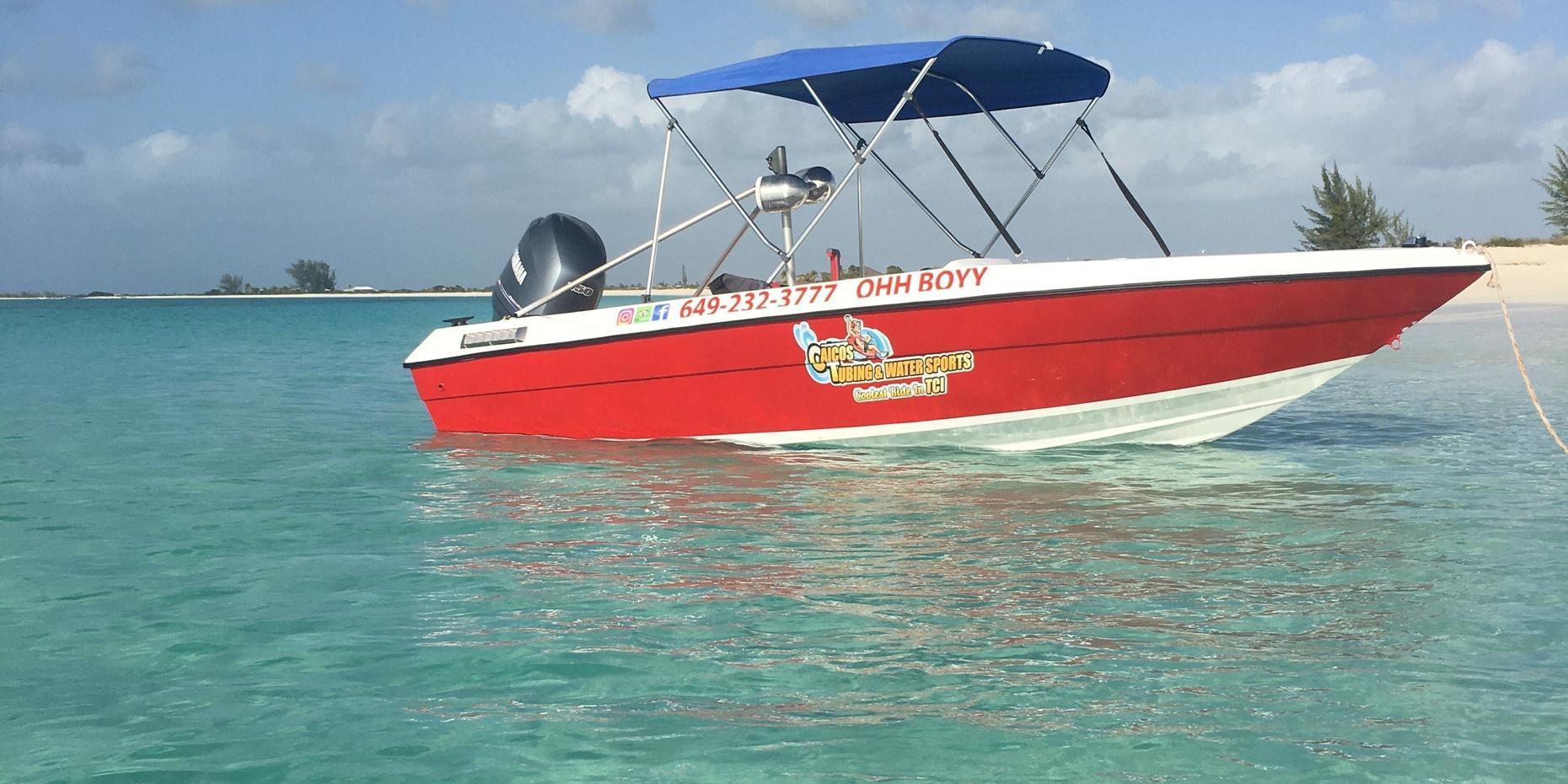 Private Boat Tour in Caicos