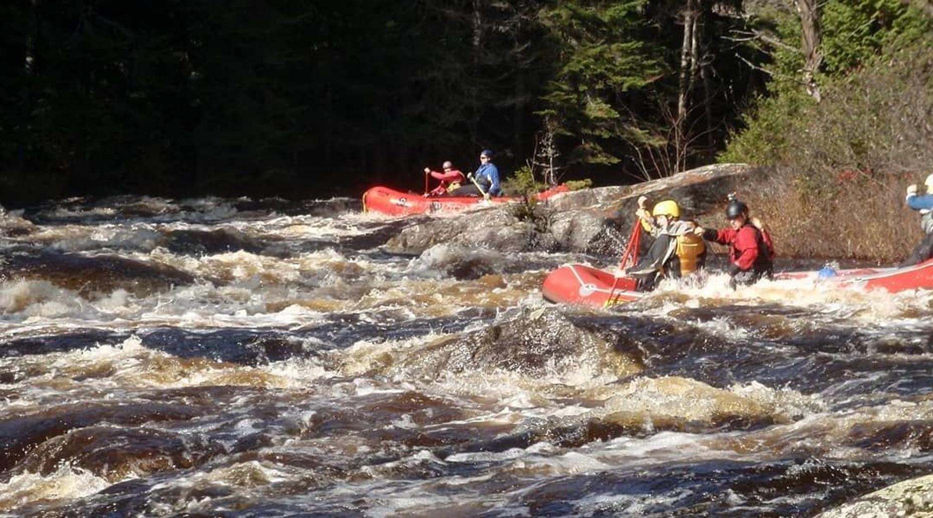 Hudson River Rafting Day Trip Class III-IV