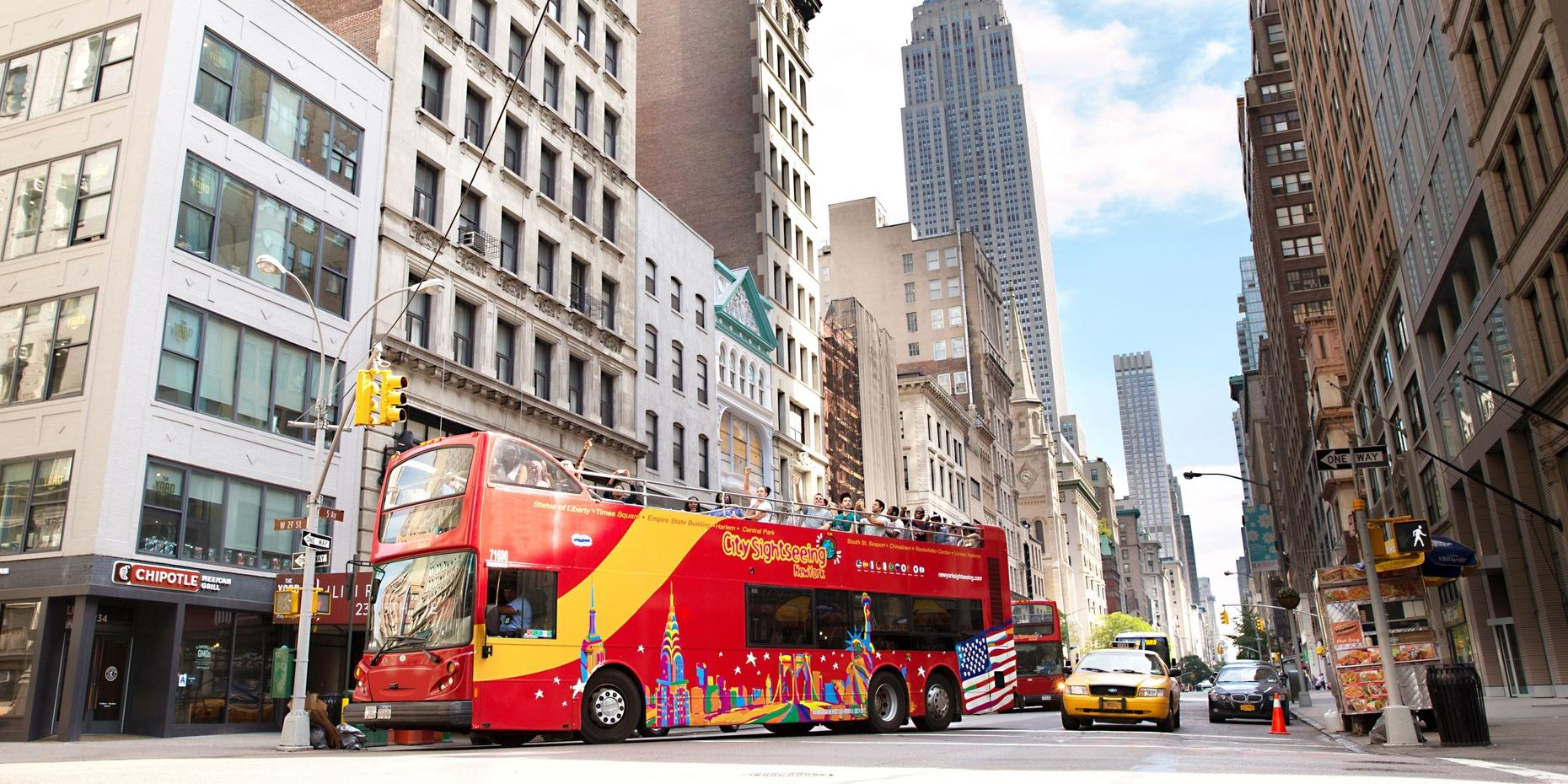 Hop-On Hop-Off Tour of Downtown New York