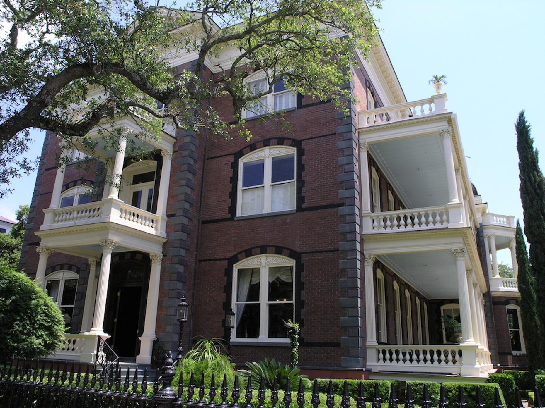 Guided Tour of the Calhoun Mansion in Charleston