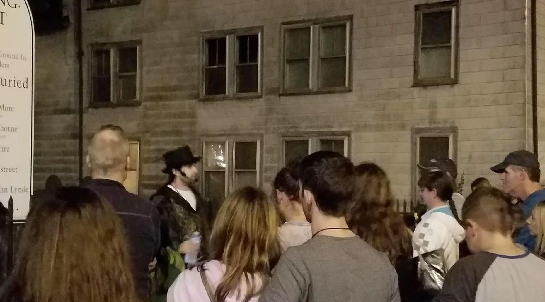 Salem Cemetery Ghost Tour