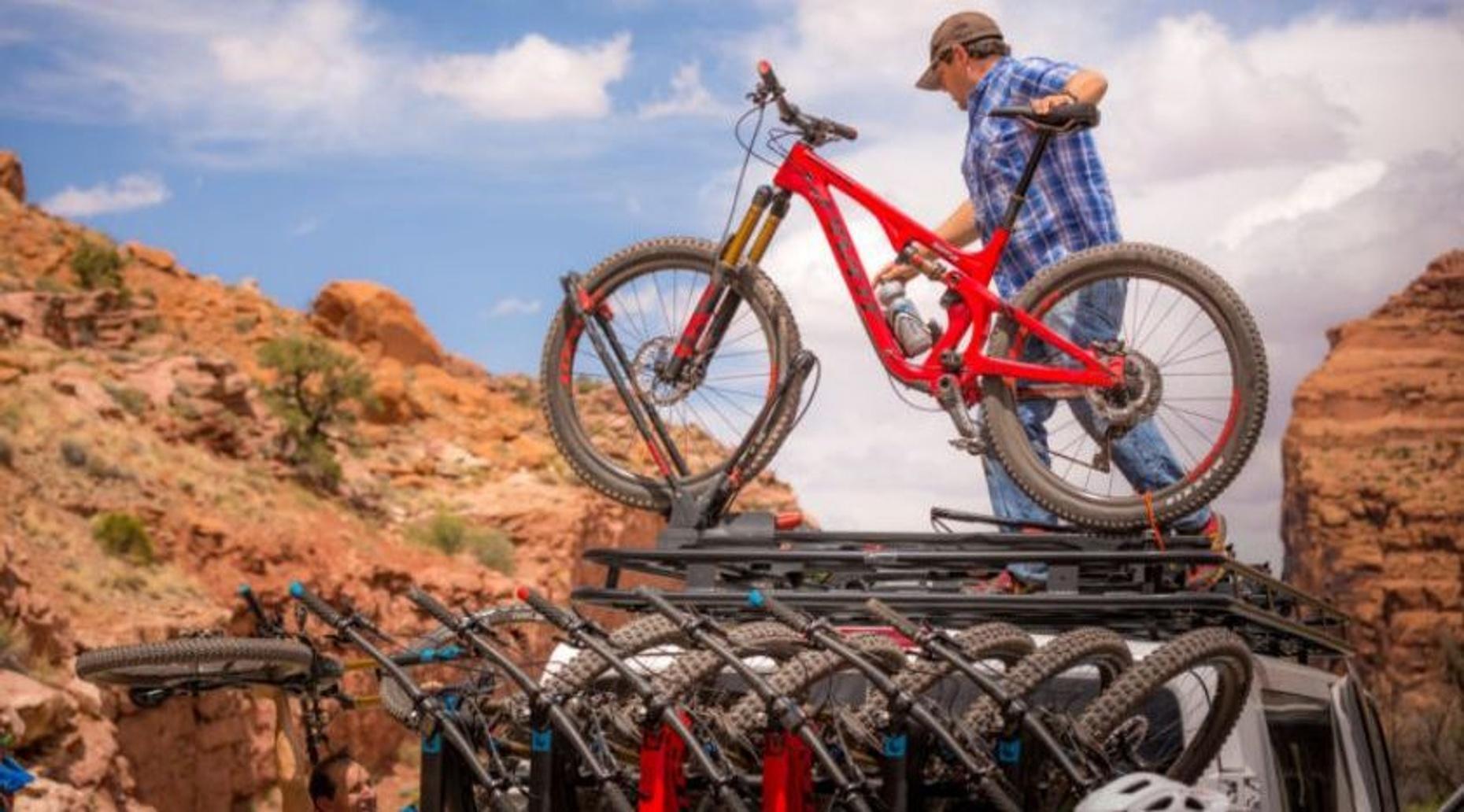Shuttle to Porcupine Rim (& Above) Mountain Biking Trails