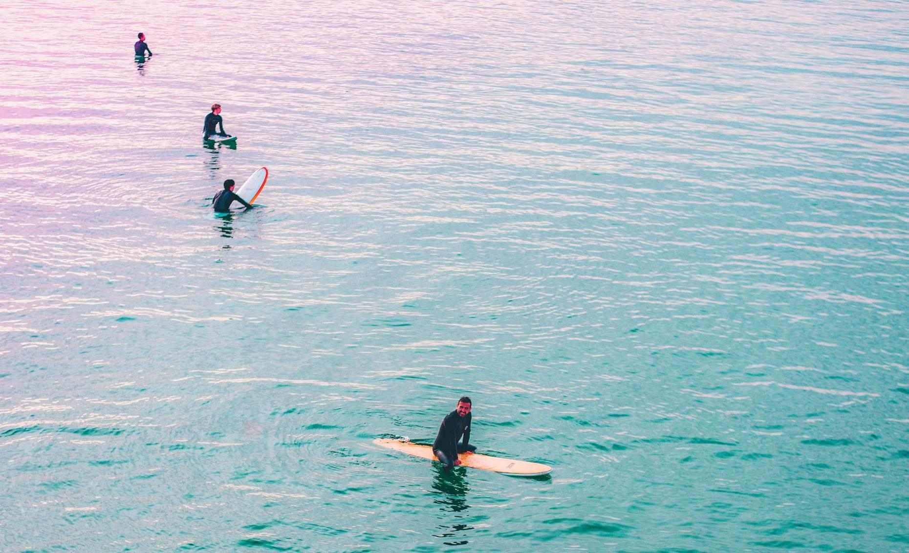 Small-Group Surfing Lesson in San Francisco