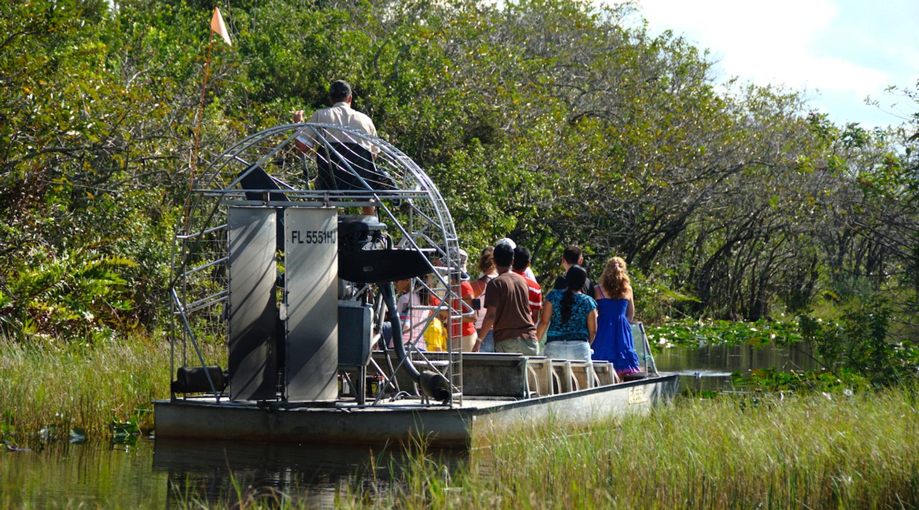 Private Two & a Half Hour Everglades Airboat Tour