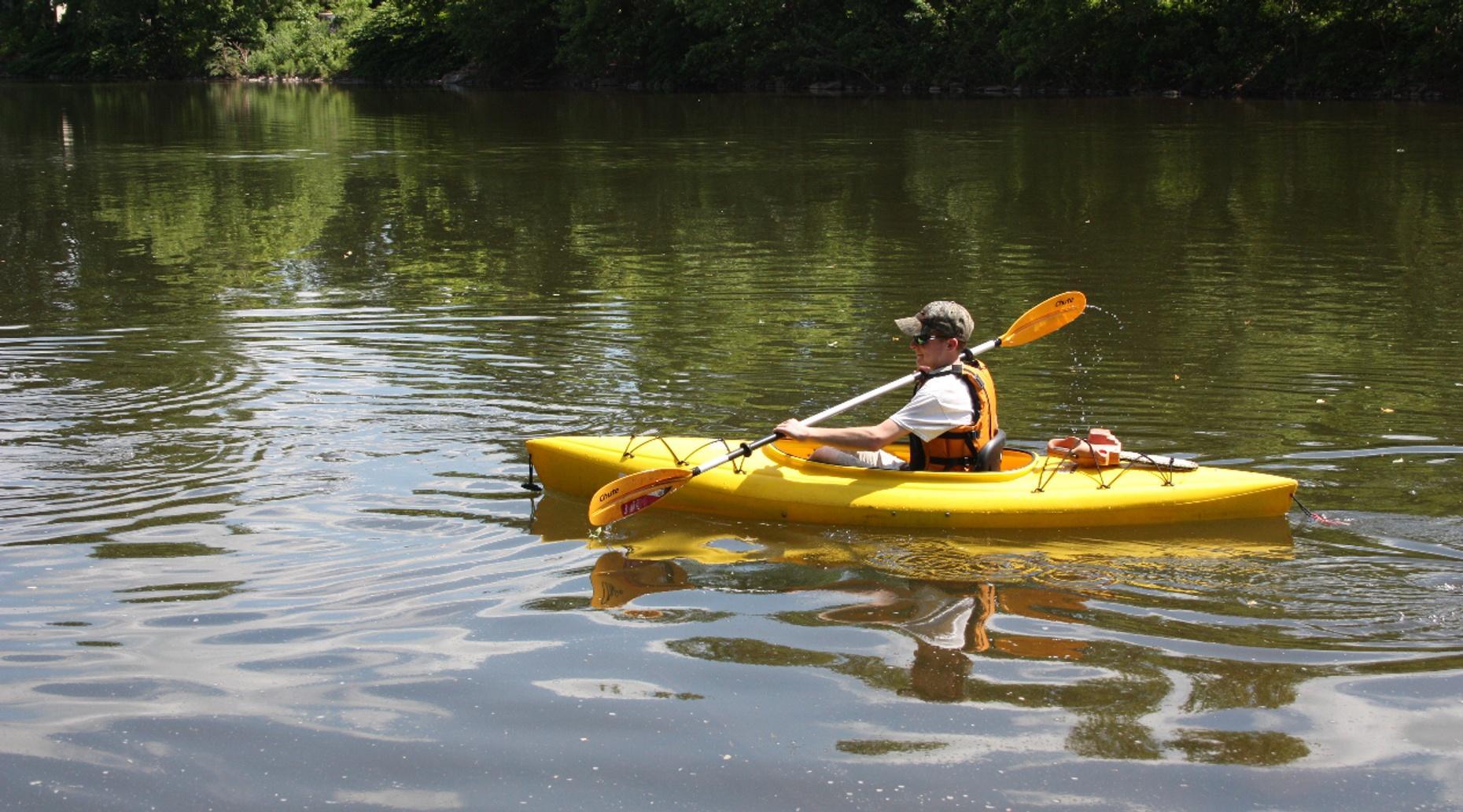 Mississippi River Kayak Rental in Red Wing