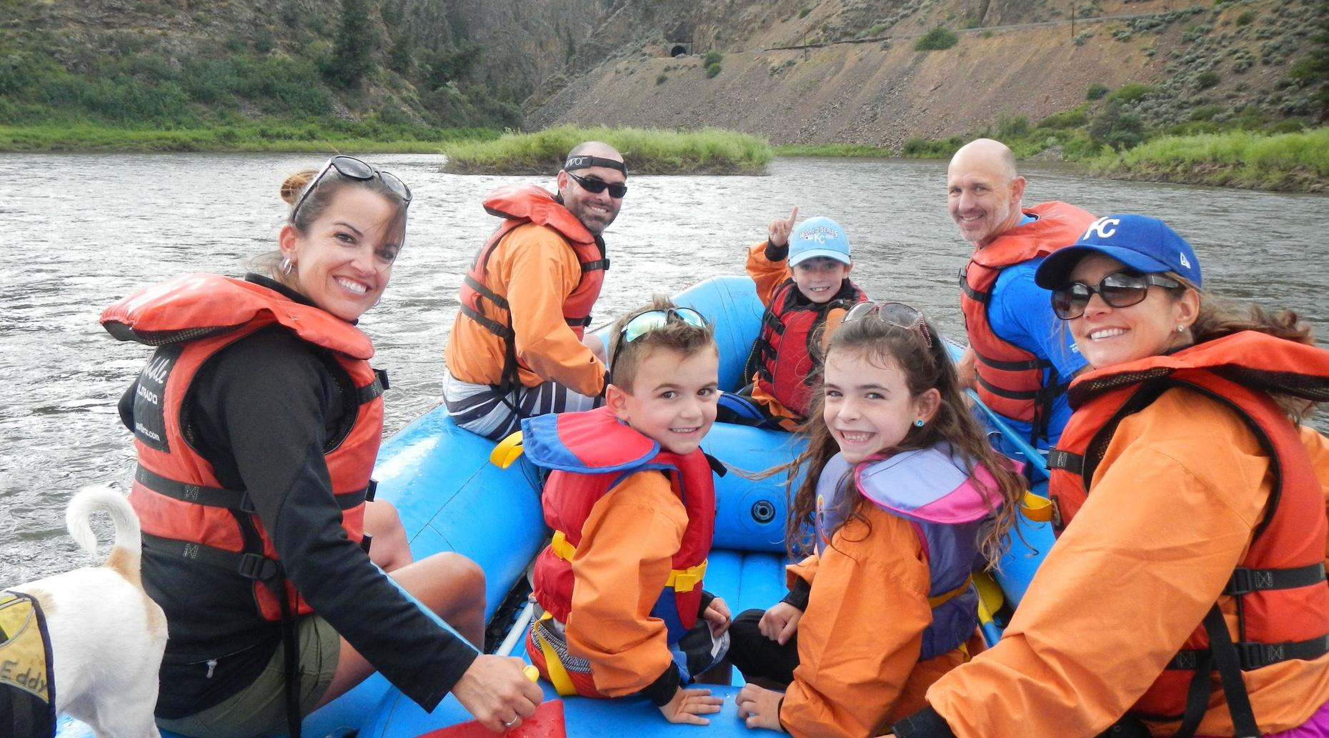 Colorado River Afternoon Half-Day Rafting Tour
