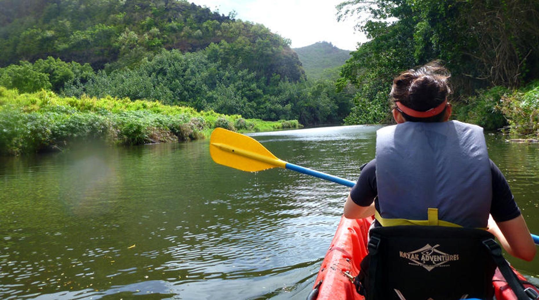 Saluda River Kayaking Trip